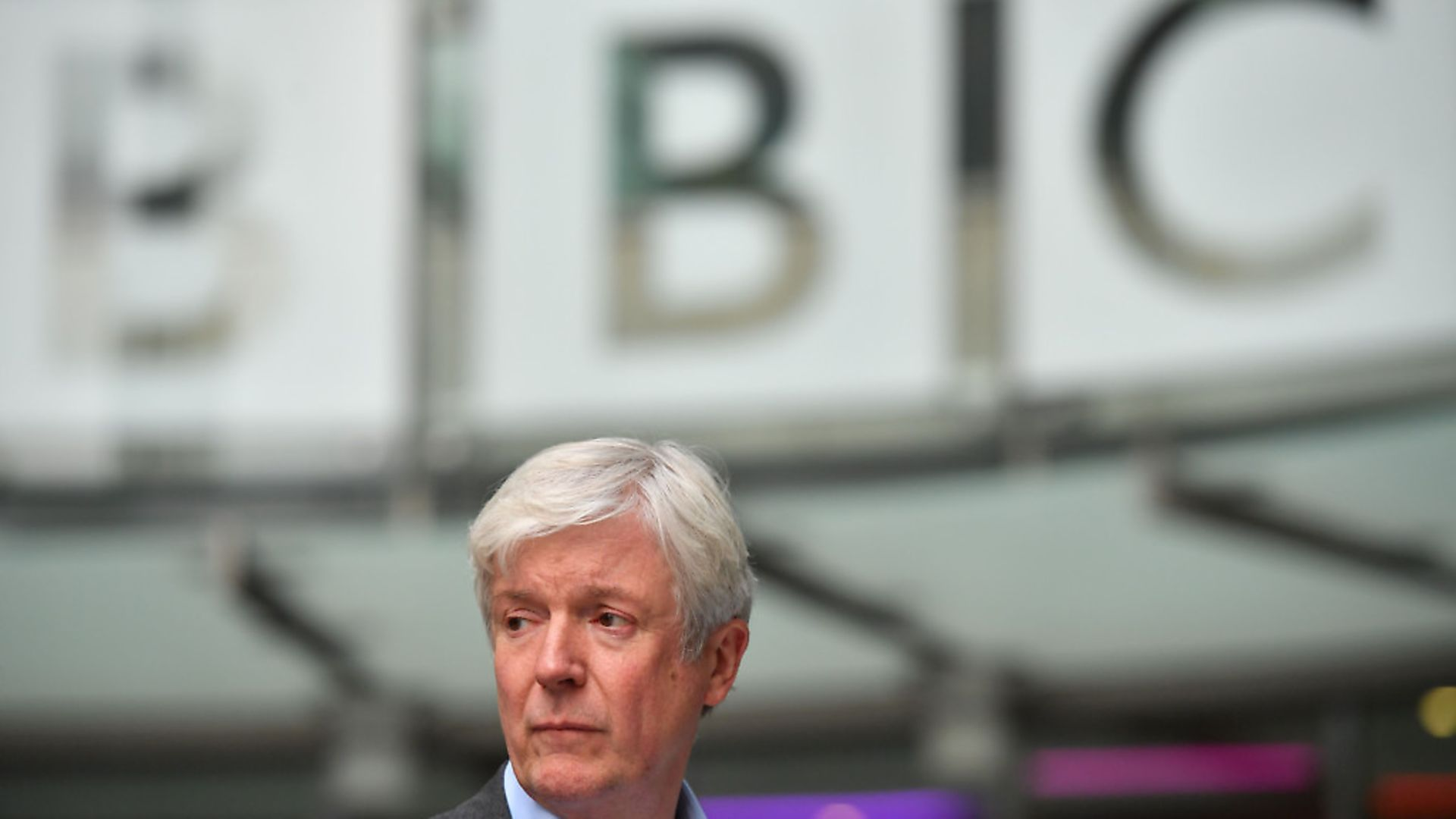 Director-General of the BBC Tony Hall seen outside the BBC's Broadcasting House in London. Picture: BEN STANSALL/AFP/Getty Images) - Credit: AFP/Getty Images