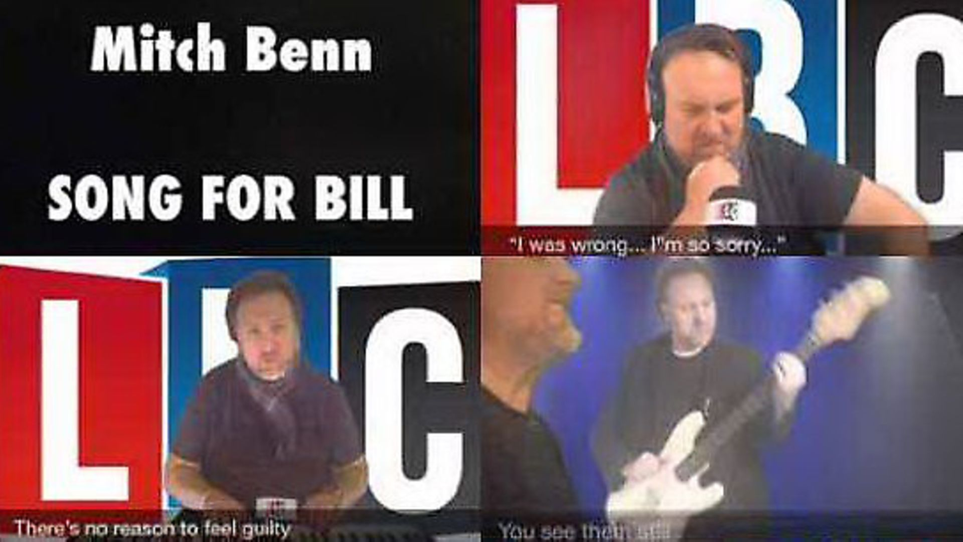 Mich Benn's 'Song for Bill' is now avaliable on YouTube. Picture: YouTube - Credit: Archant