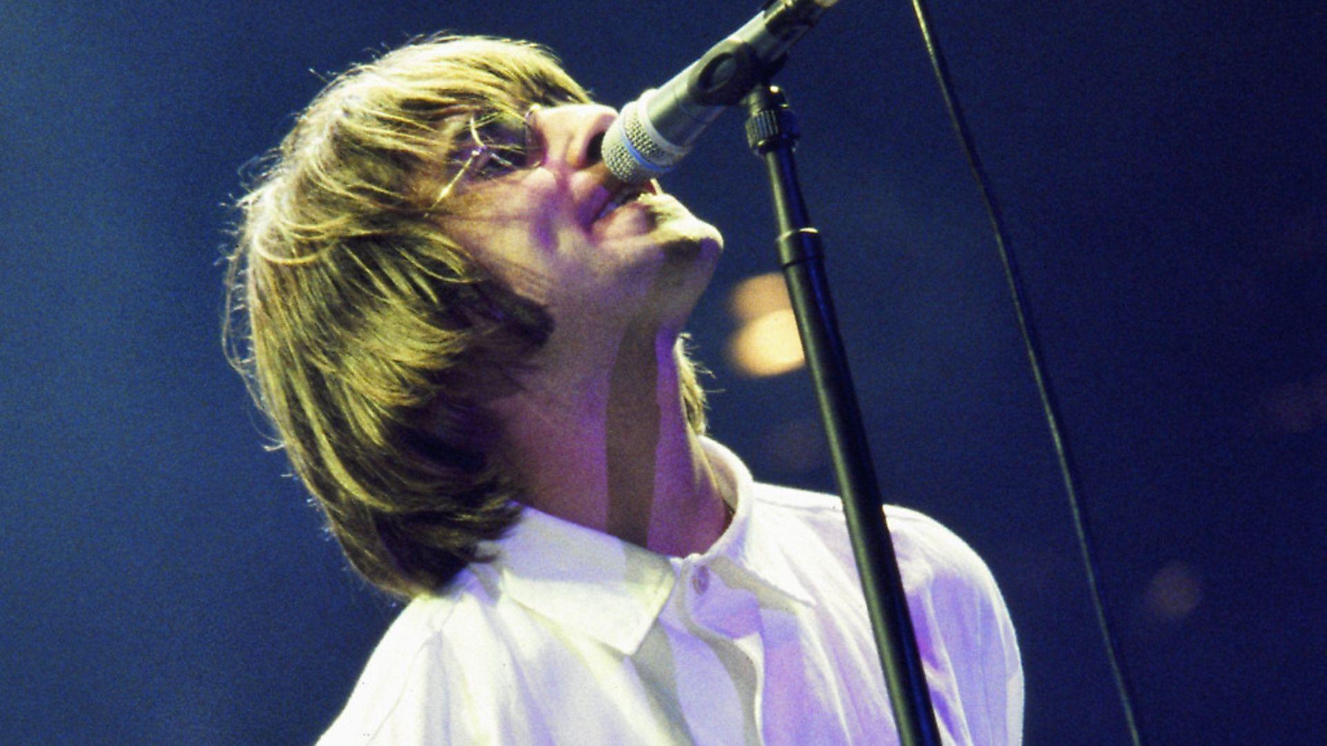 Liam Gallagher on stage at Knebworth. Photo: Simon Ritter/Redferns - Credit: Redferns