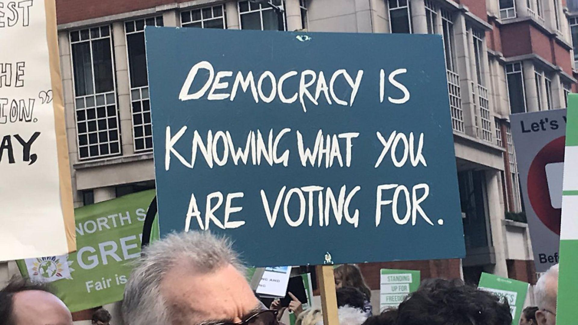 People's Vote March - Amanda Jones - Credit: Archant