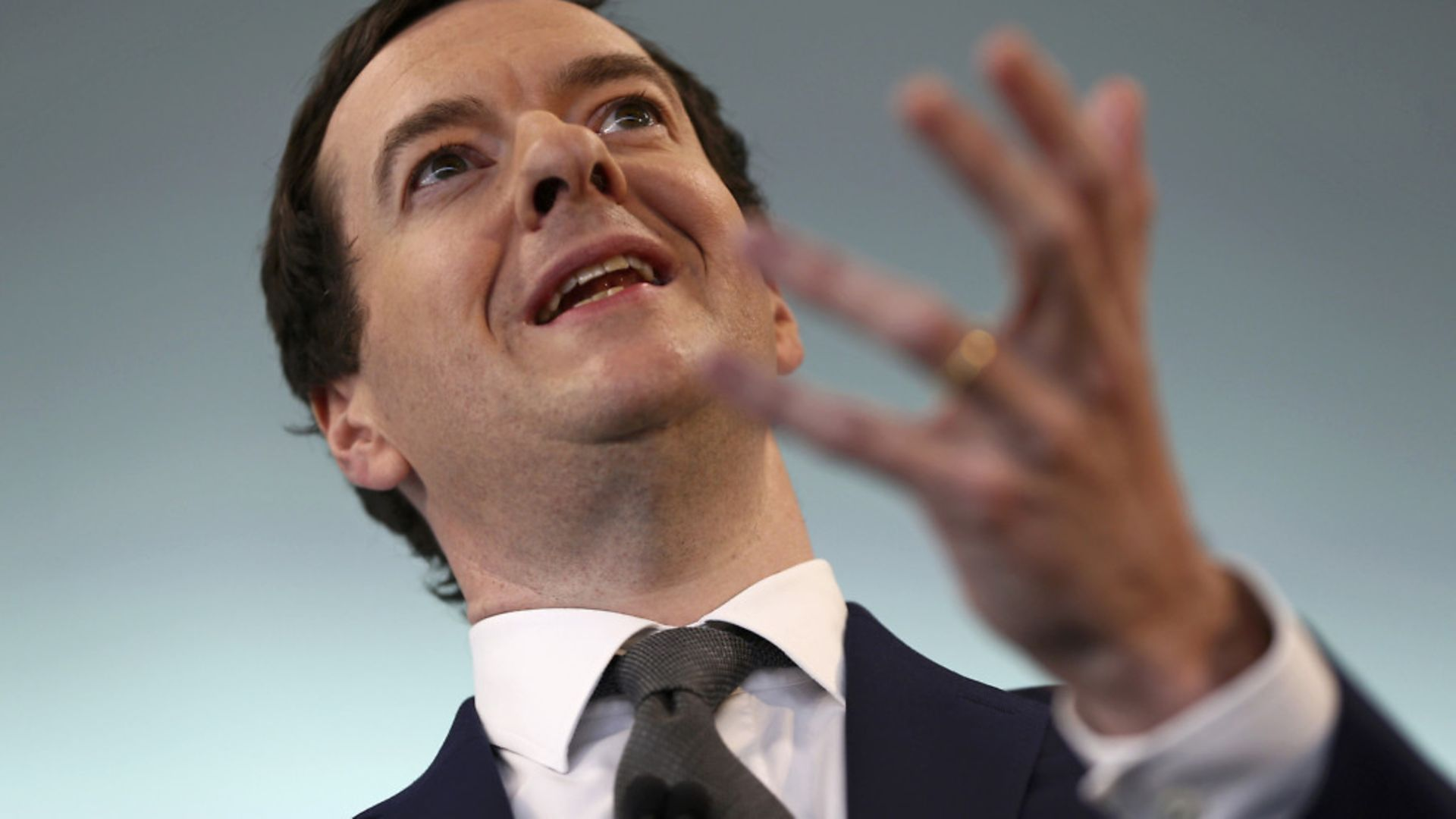 Chancellor George Osborne speaks at The Times CEO summit in London - Credit: PA