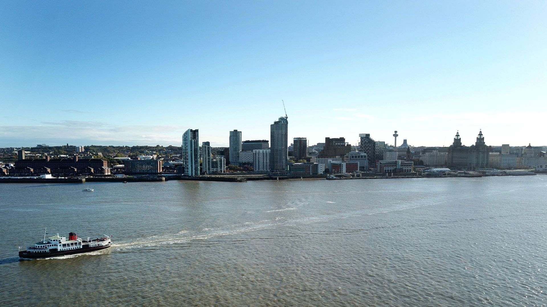 """Liverpool was the first area to be designated at """"very high risk"""" under a new three-tiered system.  (Photo by Paul ELLIS / AFP) (Photo by PAUL ELLIS/AFP via Getty Images) - Credit: AFP via Getty Images"""