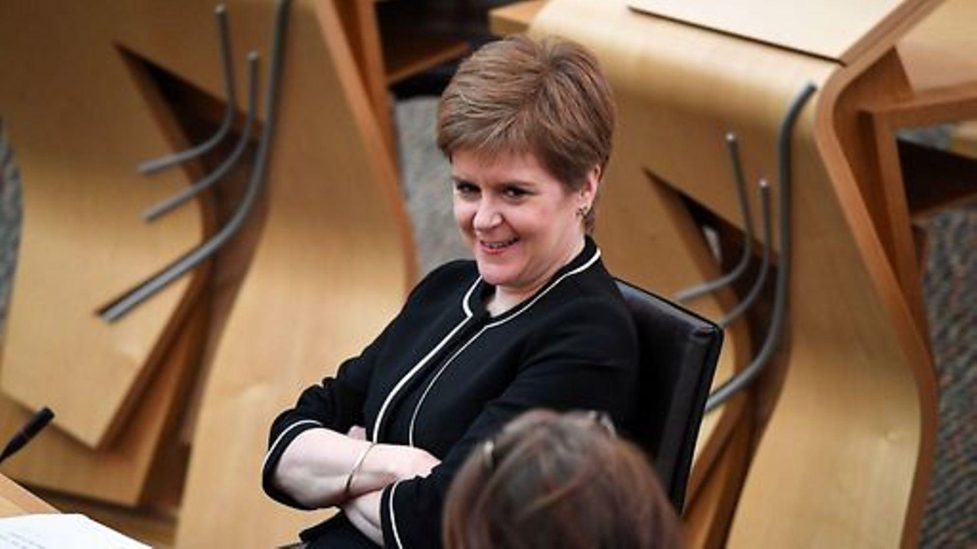 First Minister Nicola Sturgeon - Credit: PA