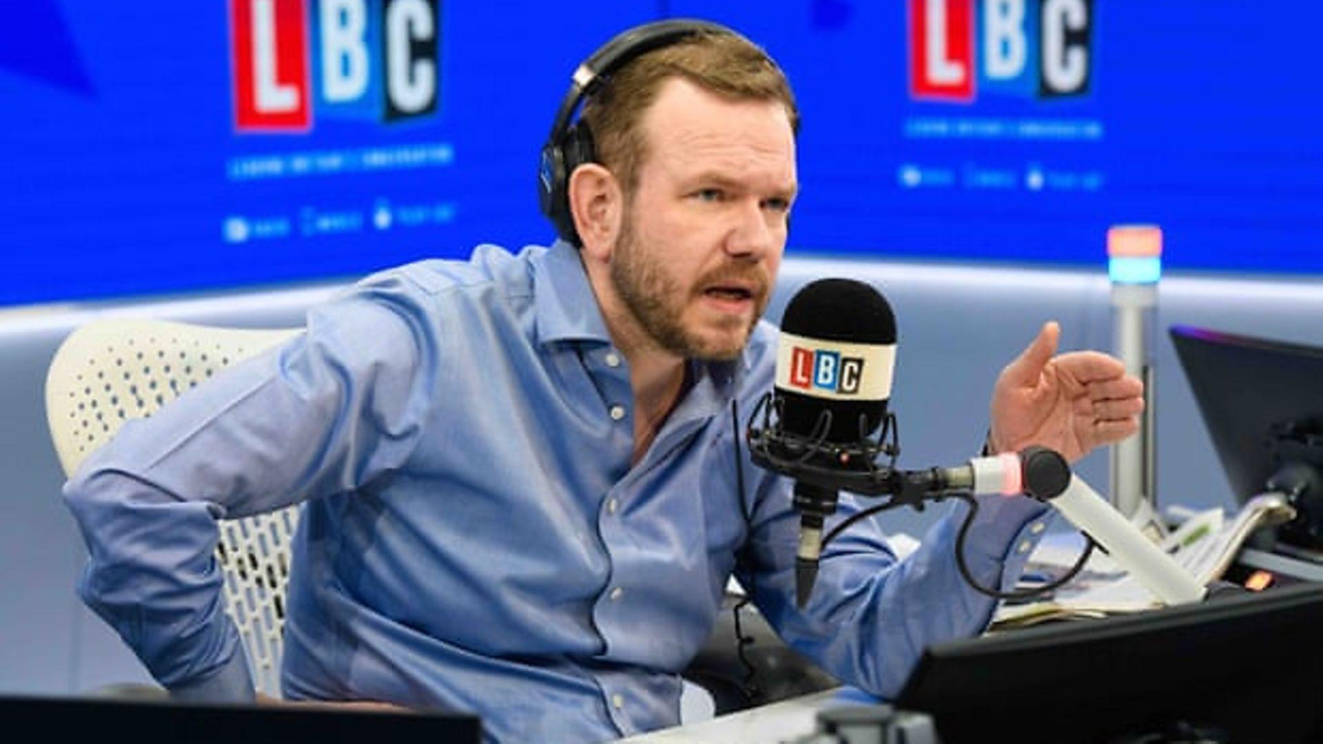 LBC Radio presenter James O'Brien - Credit: LBC