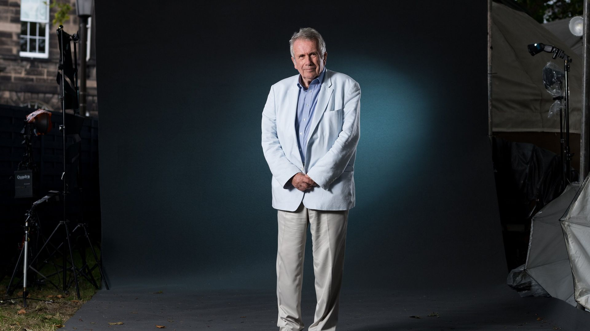 Veteran: British UNICEF Ambassador and former broadcast war reporter Martin Bell attends a photocall during the annual Edinburgh International Book Festival in 2017 (Photo by Roberto Ricciuti/Getty Images) - Credit: Getty Images