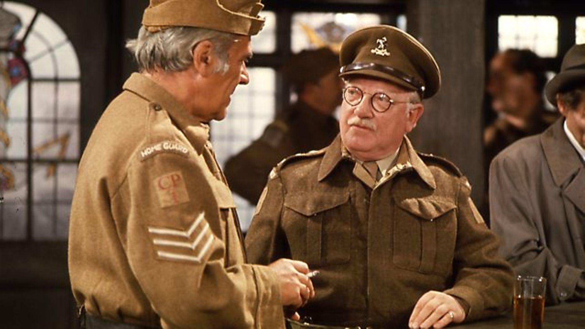 Captain Mainwaring in Dad's Army - Credit: BBC