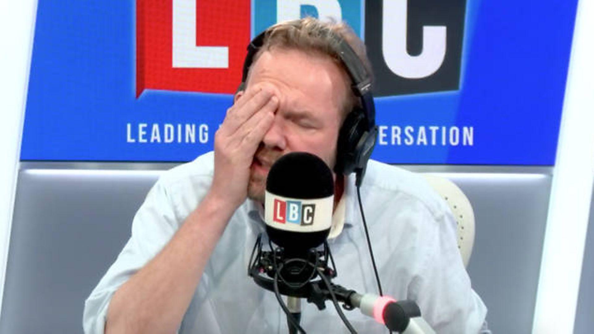Radio presenter James O'Brien - Credit: LBC