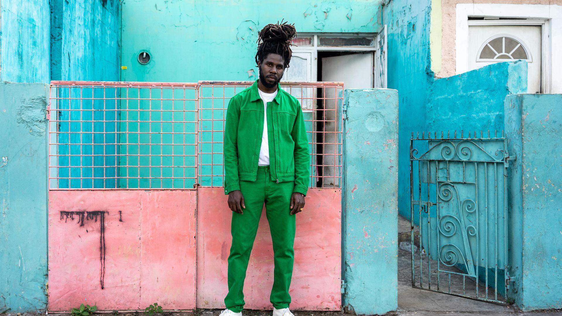 Chronixx's latest album Dela Splash has reinforced comparisons with reggae icon Bob Marley - Credit: El Peru