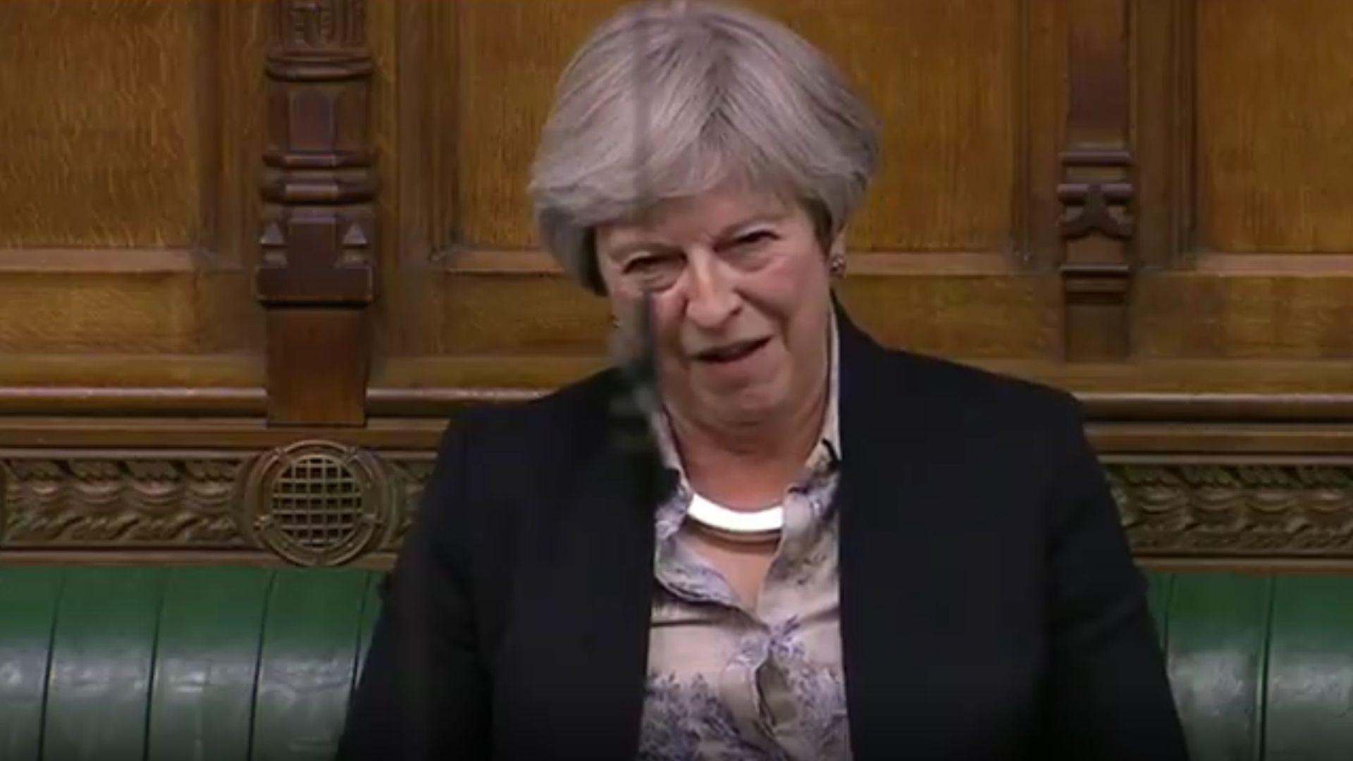Theresa May - Credit: Parliament Live
