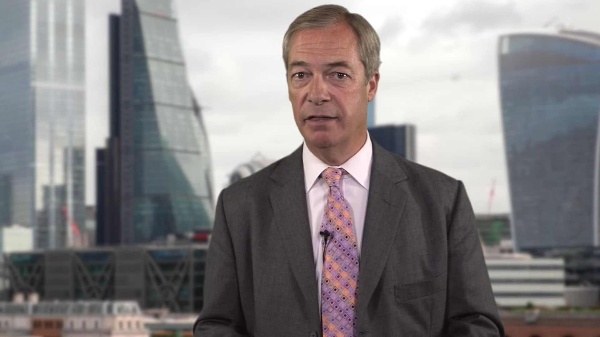 Nigel Farage in a video advert for his Fortune & Freedom investment advice service - Credit: Archant