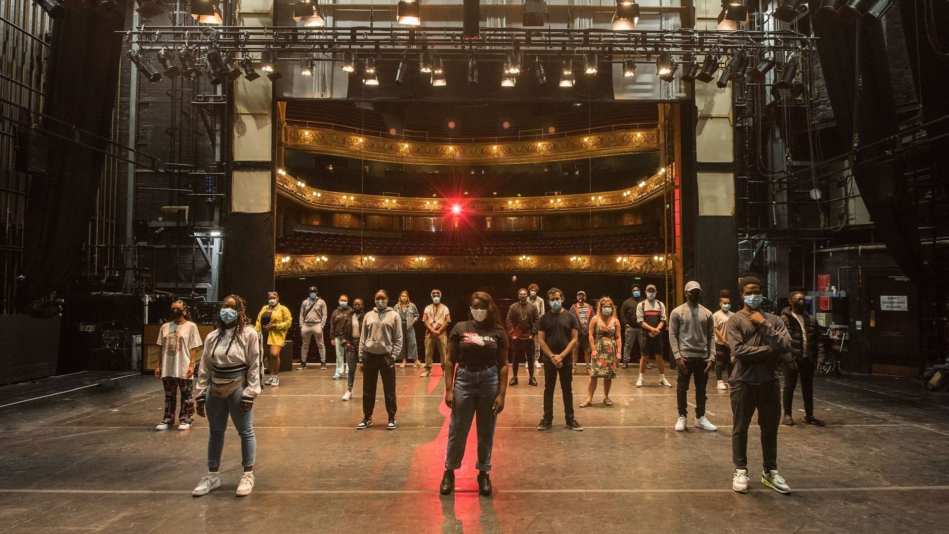 Hackney Empire received £500,00 from the government's Cultural Recovery Fund - Credit: Hackney Empire