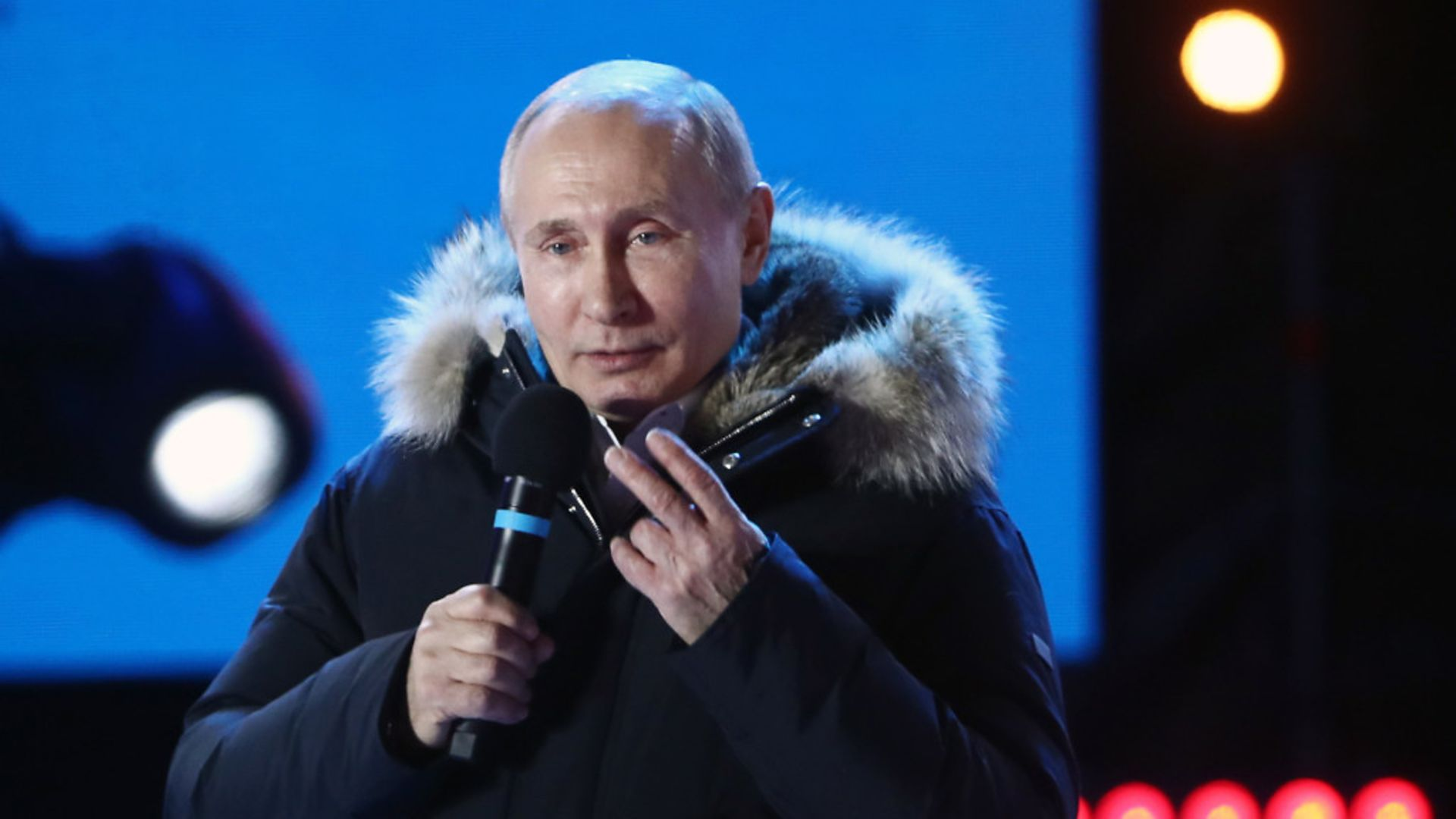 Russian president Vladimir Putin (question two) - Credit: Tass/PA Images