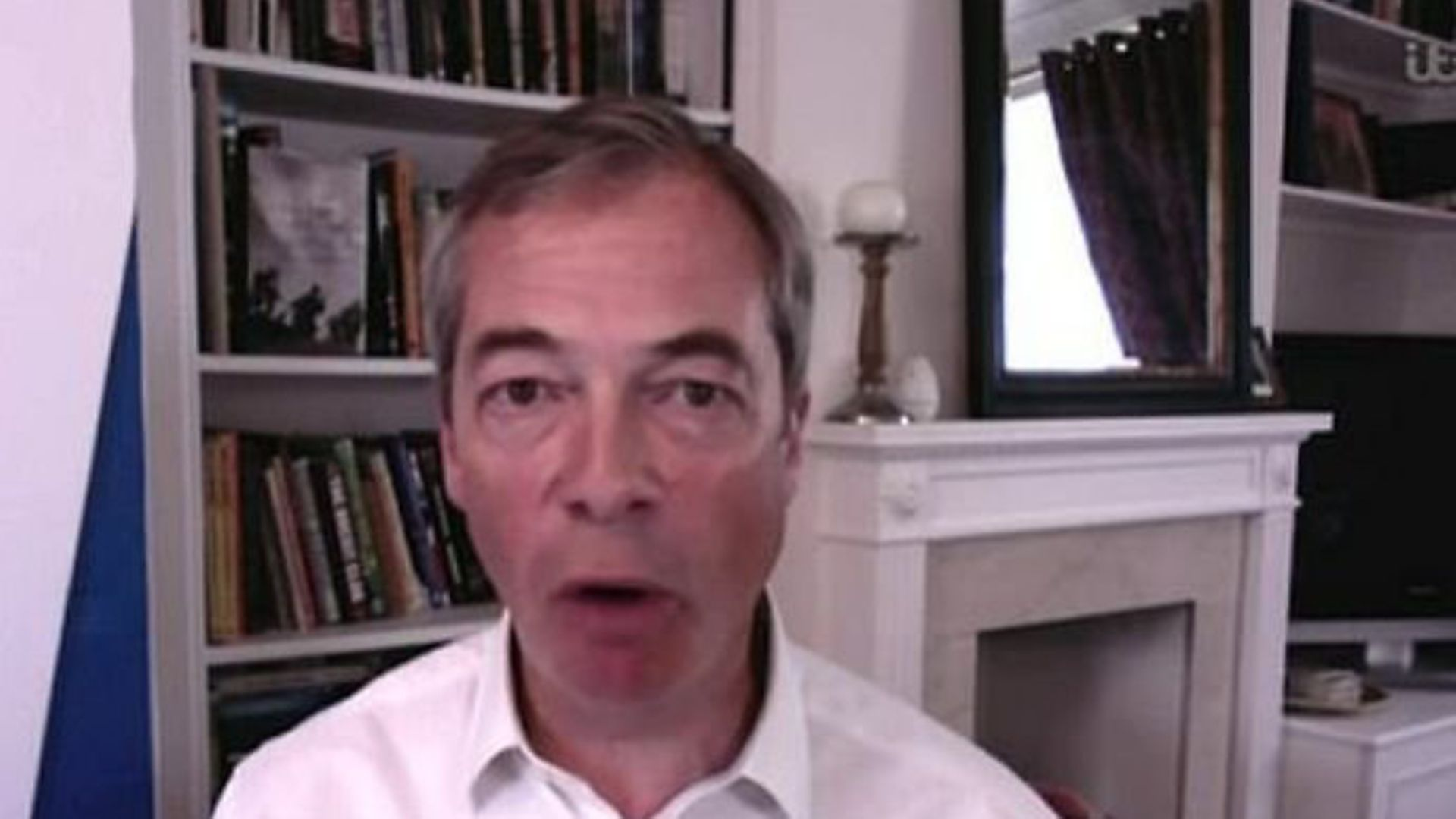 Nigel Farage on Good Morning Britain - Credit: Archant