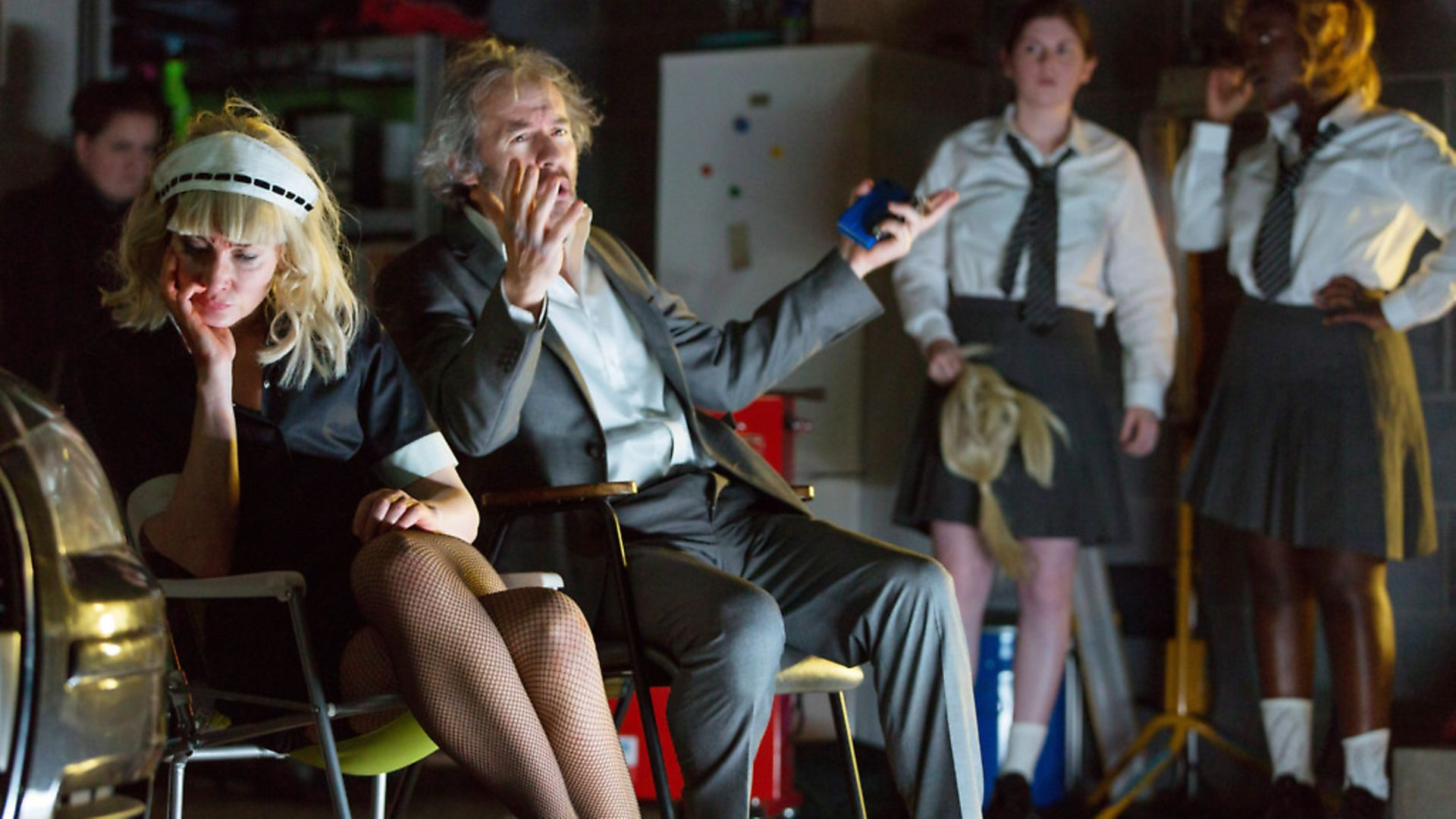 Cate Blanchett and Stephen Dillane in When We Have Sufficiently Tortured Each Other. Picture: Stephen Cummiskey 2019 - Credit: Archant
