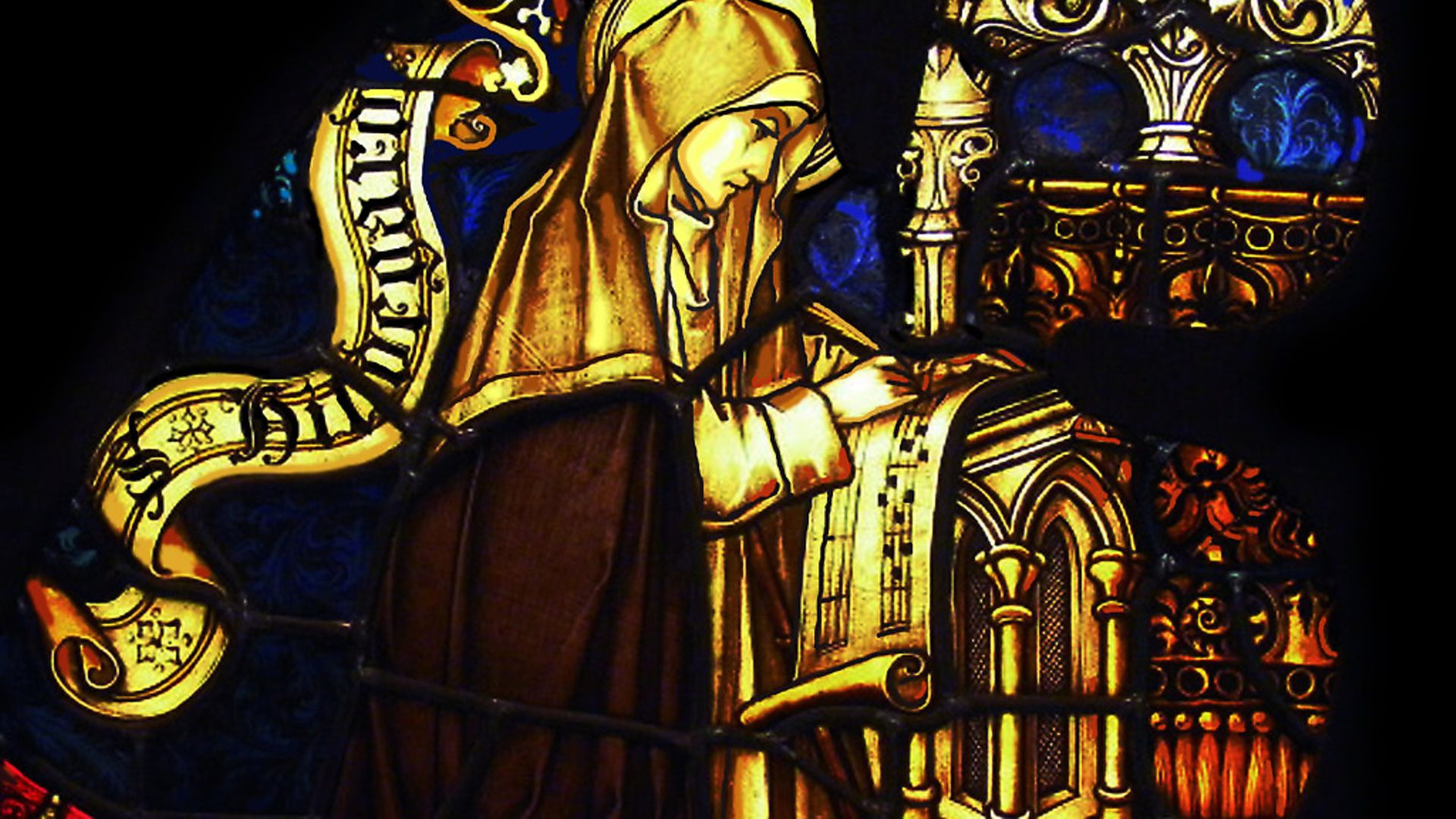 Hildegard of Bingen. Found in the collection of the Eibingen Abbey. (Photo by Fine Art Images/Heritage Images/Getty Images) - Credit: Heritage Images/Getty Images