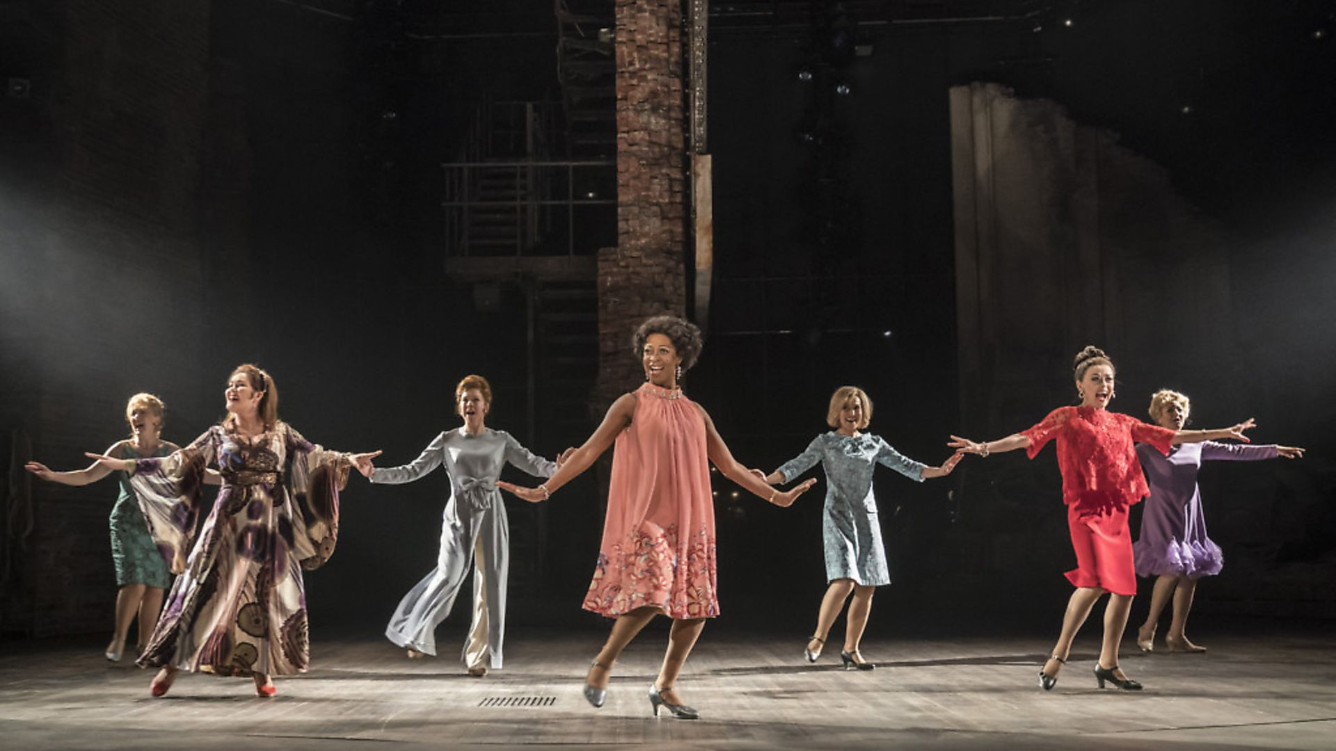 FOLLIES by Sondheim ;  Directed by Dominic Cooke ; Designed by Vicki Mortimer ; Lighting Designer - Paule Constable,  at the National Theatre, London, UK ; 2019 ; Credit : Johan Persson / - Credit: Archant