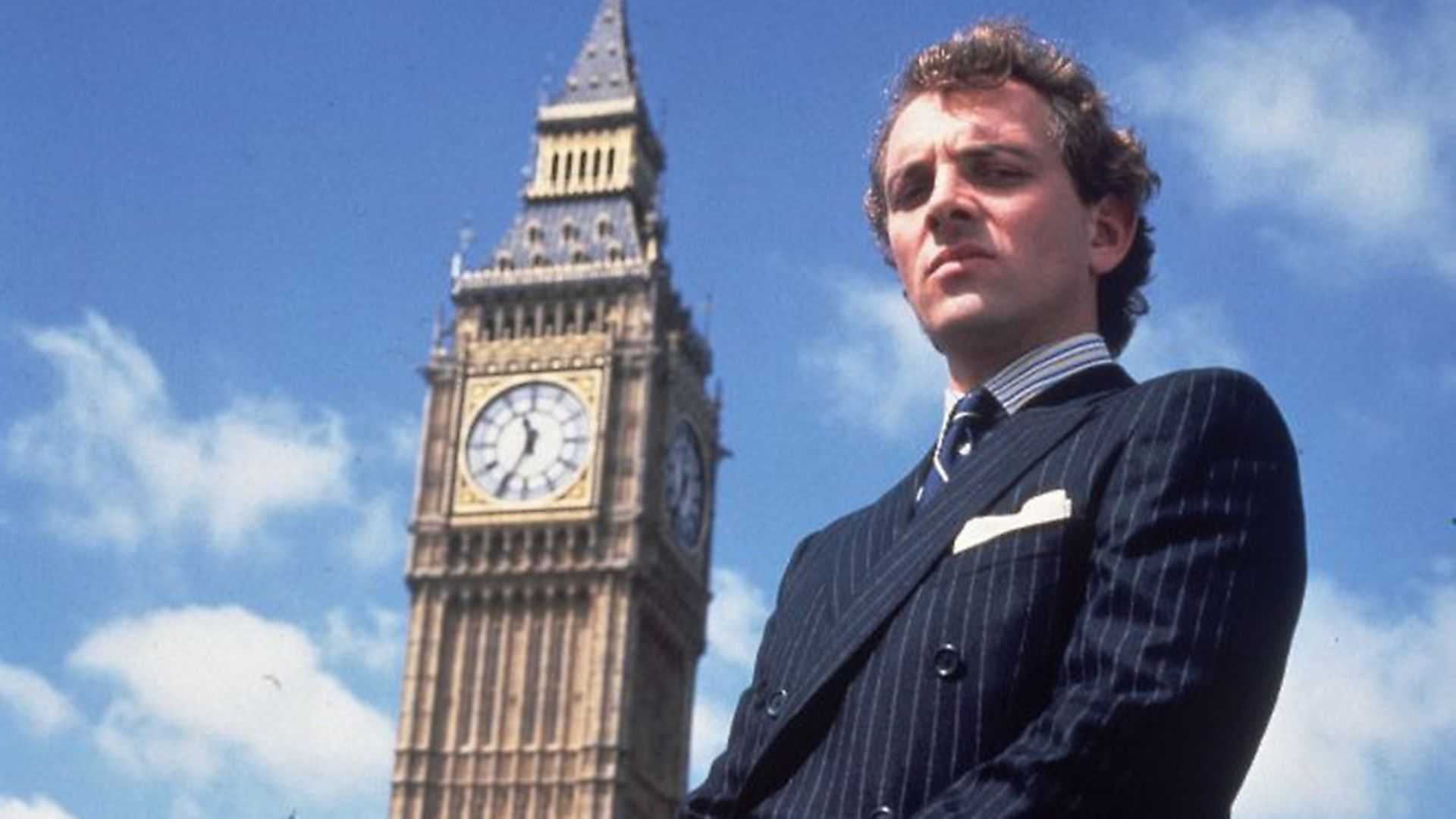 A MAN FOR OUR TIMES: Rik Mayall in his strangely prescient role as Conservative MP Alan BstardPhoto: Contributed - Credit: Archant