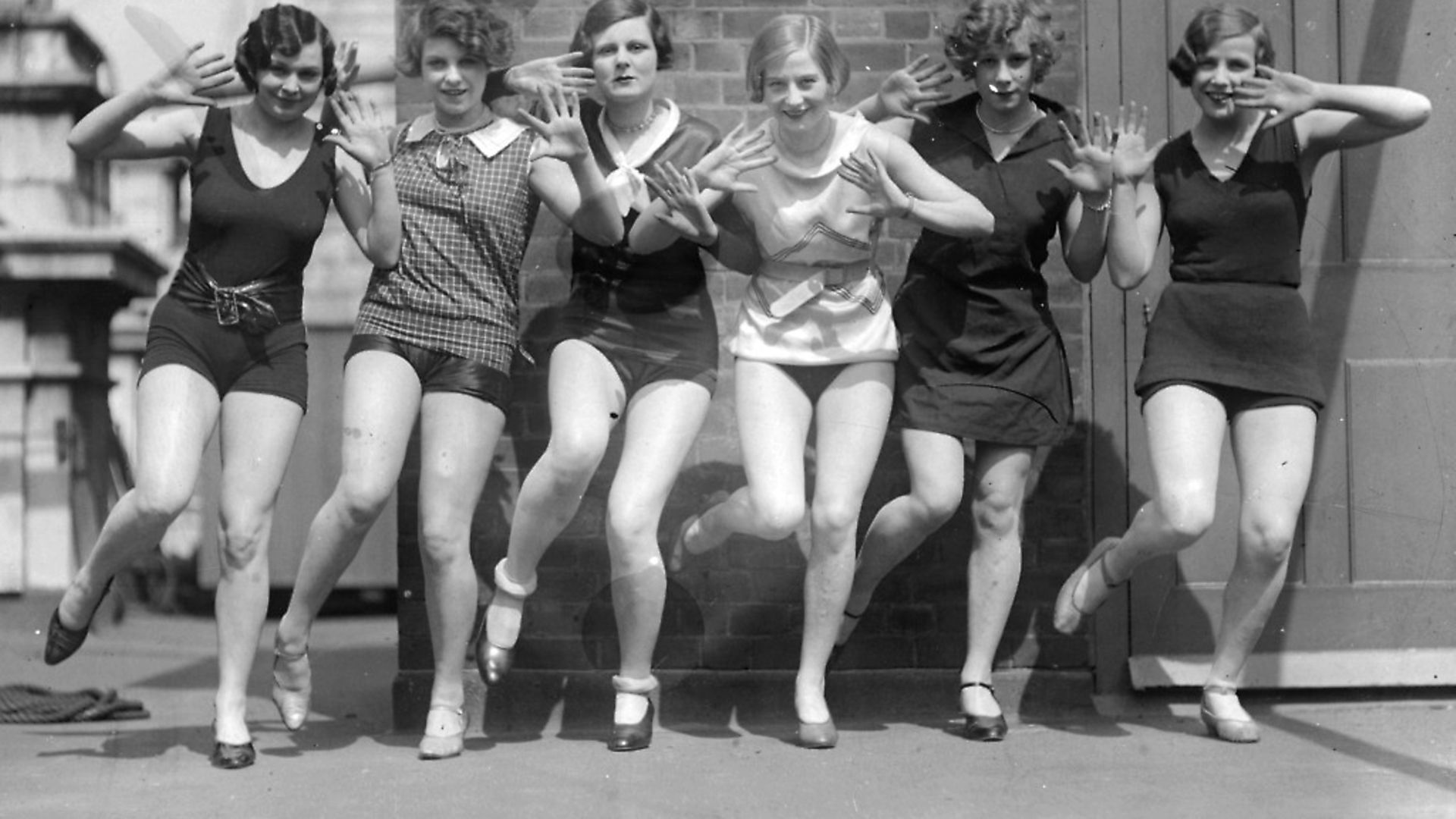 circa 1926:  Dancers demonstrating steps from the 'Charleston'.  (Photo by General Photographic Agency/Getty Images) - Credit: Getty Images