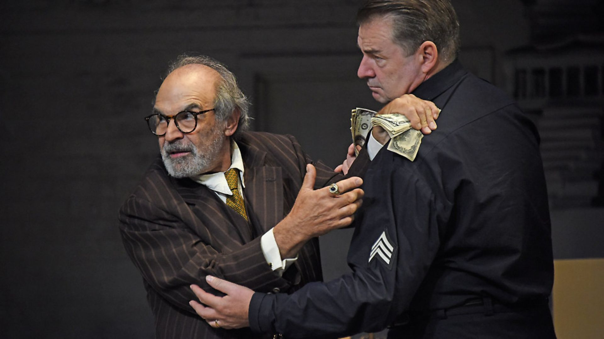 David Suchet and Brendan Coyle in 'The Price'. Picture: Nobby Clark - Credit: ©Nobby Clark Photographer