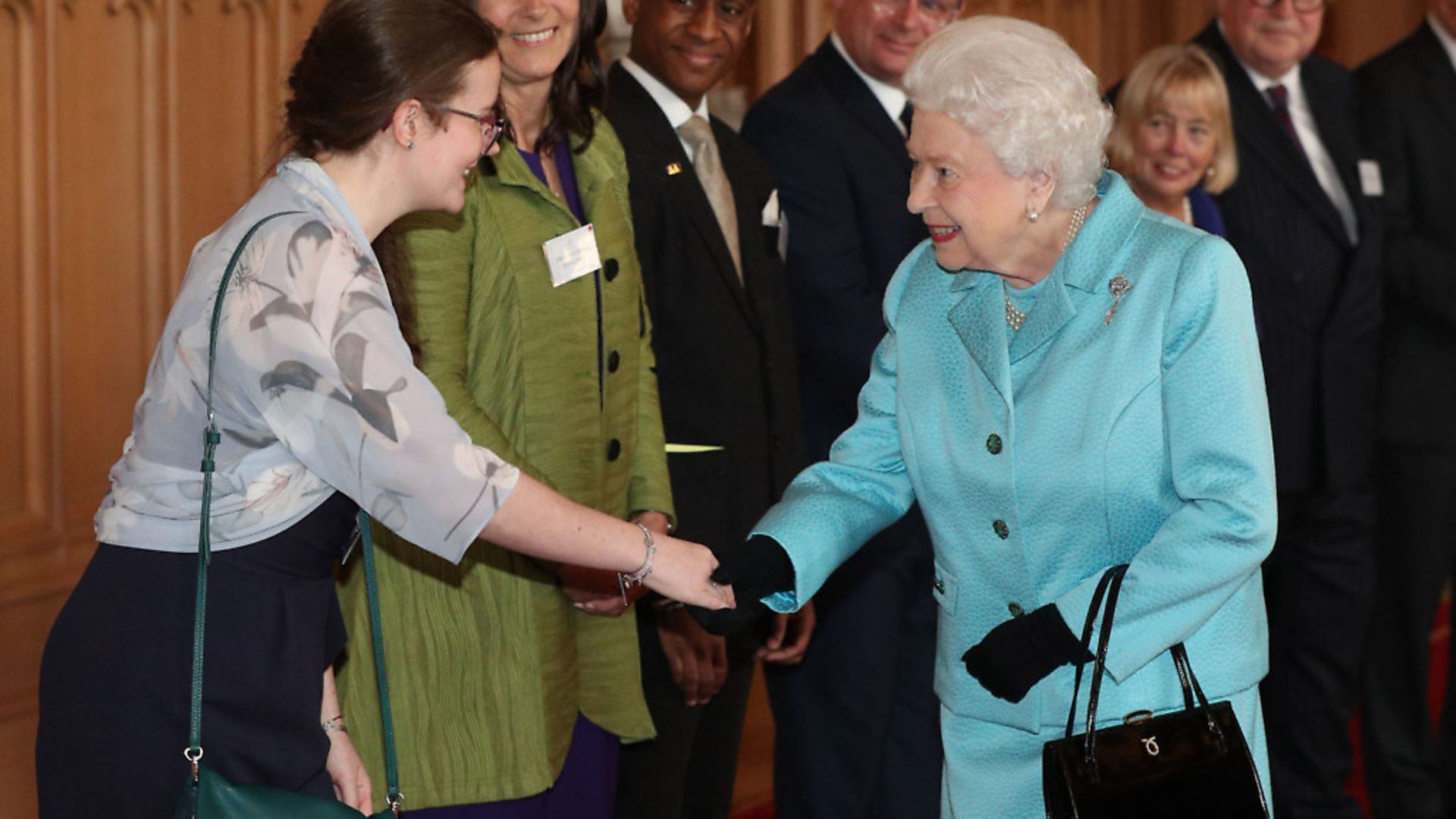 Ma'am is still in use in the US, but is much rarer in Britain. The term is still used to address the queen after first calling her 'Your Majesty'. Picture: Jonathan Brady/PA Wire - Credit: PA