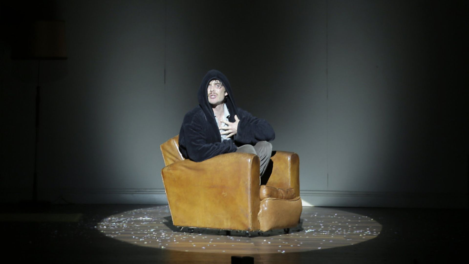 Cillian Murphy in 'Grief is The Thing With Feathers' at the Barbican. Picture: Colm Hogan - Credit: Archant