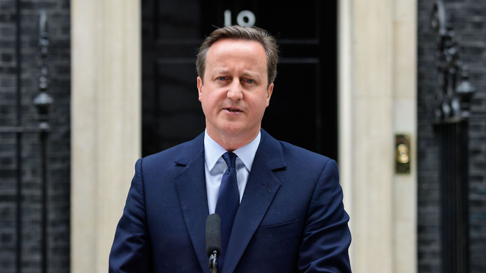 David Cameron at 10 Downing Street before the EU referendum. (Photograph: LEON NEAL/AFP/Getty Images) - Credit: AFP/Getty Images