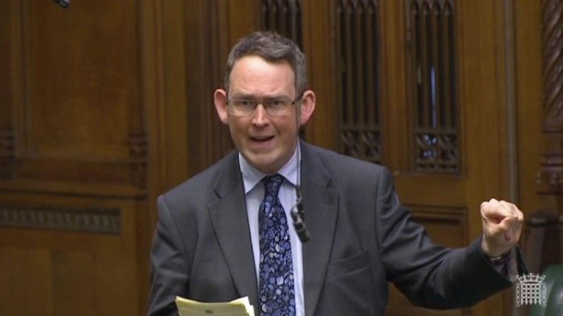 Tory MP Paul Manyard - Credit: Parliament Live