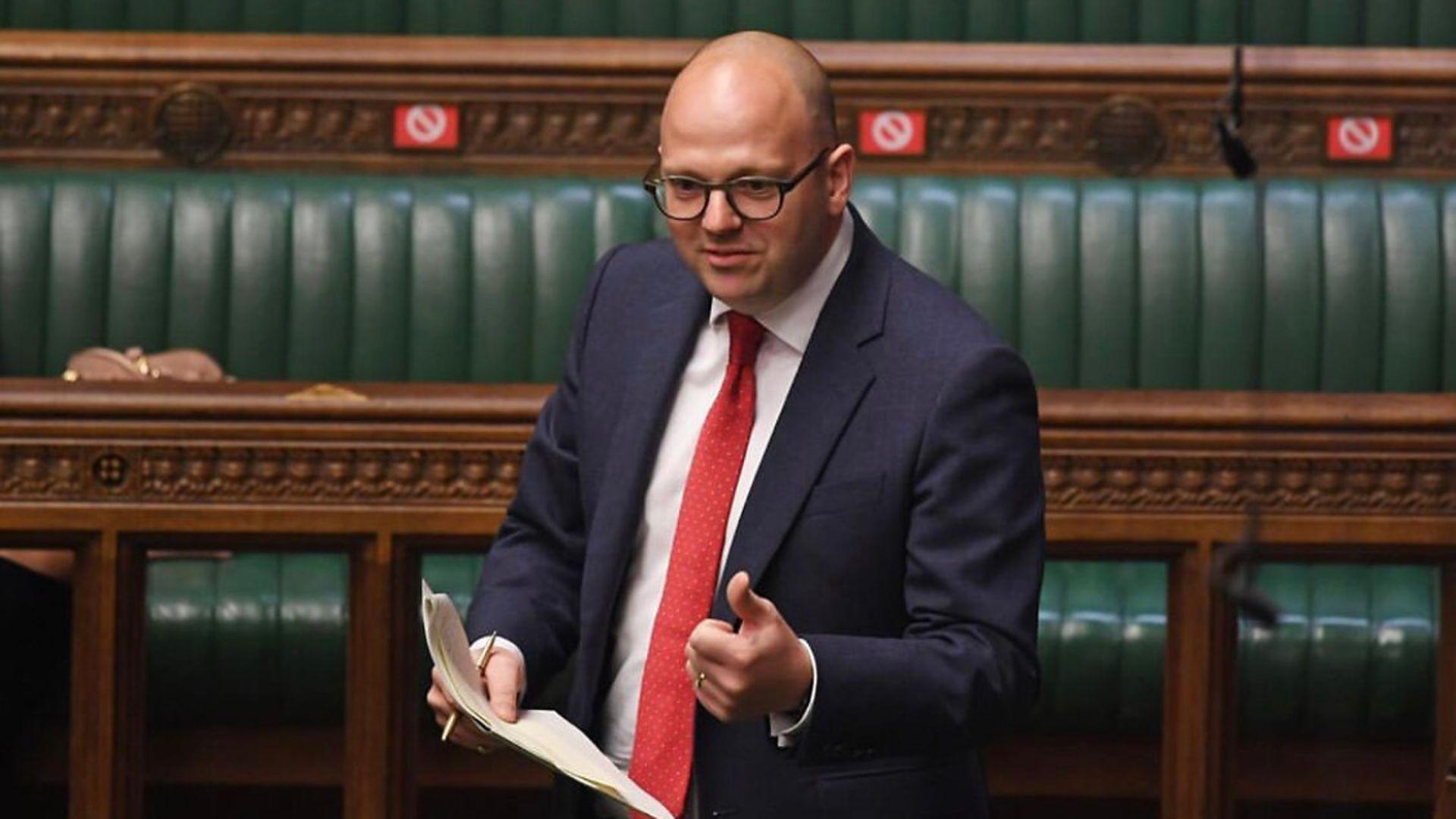 Tory MP Simon Fell - Credit: Jessica Taylor/UK Parliament