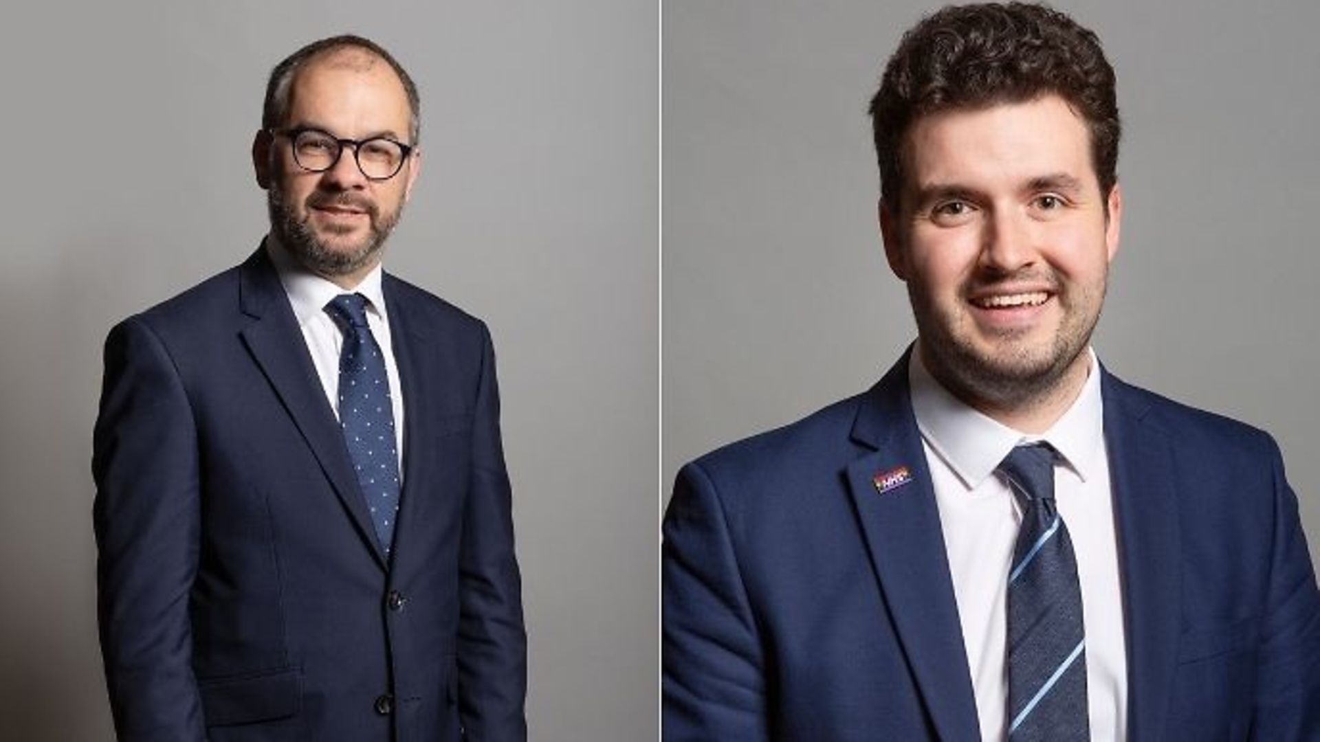 Parliamentary under-secretary for Labour Paul Scully (L) and Carshalton and Wallington MP Elliot Colburn - Credit: UK parliament
