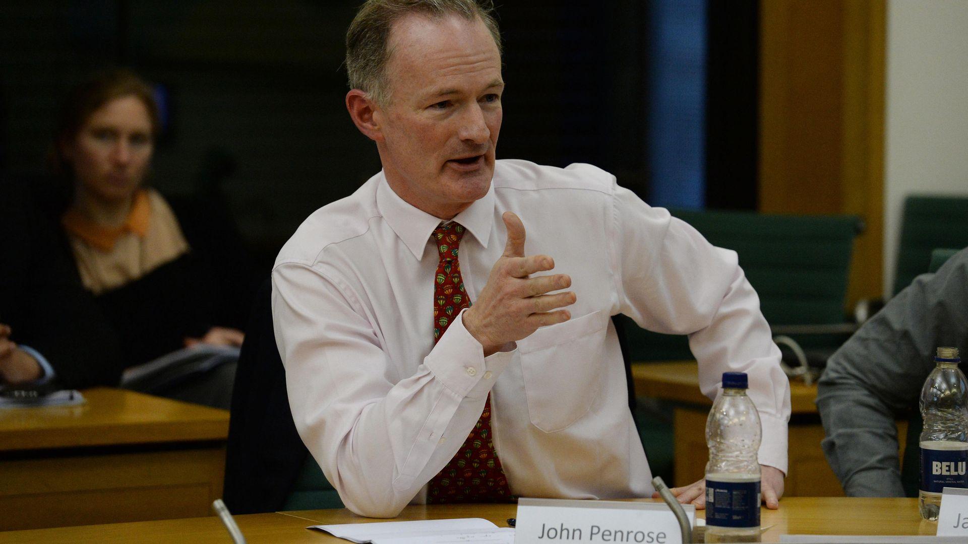 John Penrose, MP for Weston-super-Mare - Credit: PA