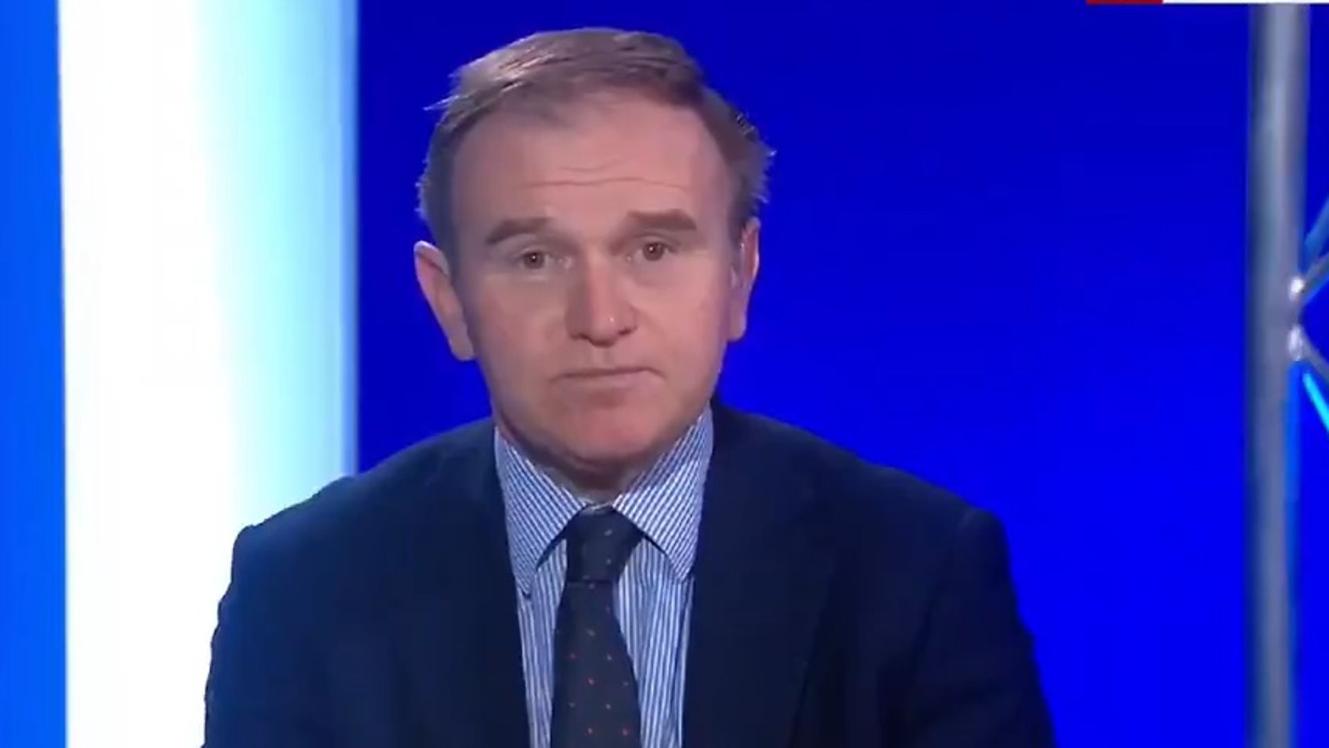 Environment minister George Eustice - Credit: Sky News