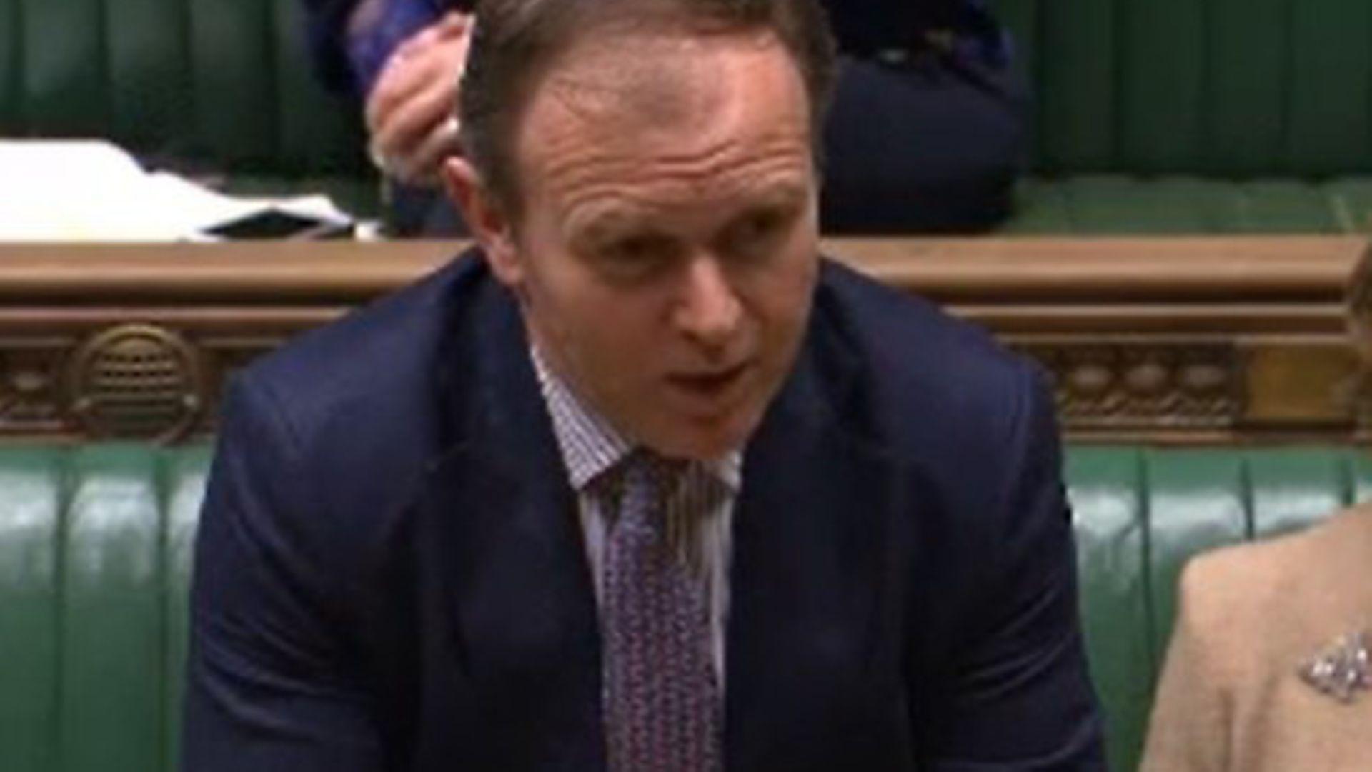 Environment secretary George Eustice. - Credit: Parliament Live