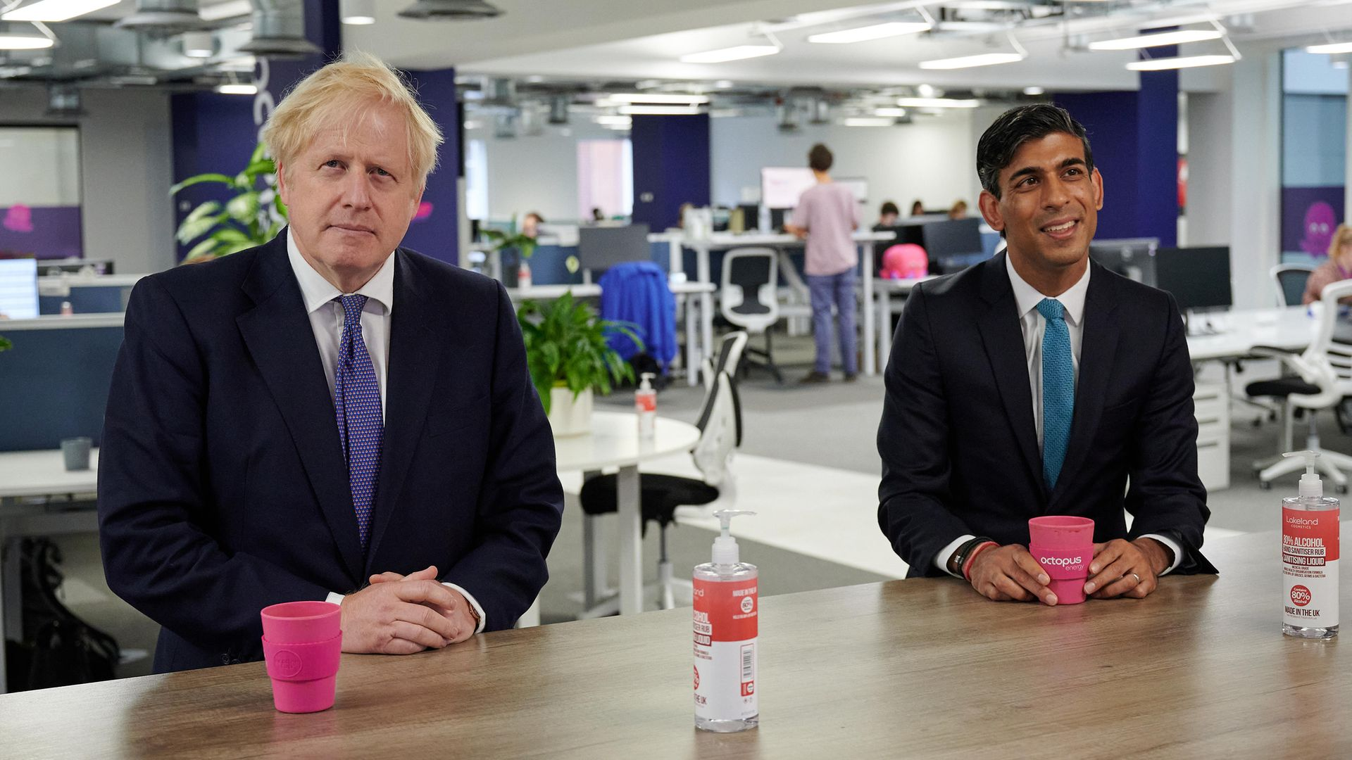 Prime Minister Boris Johnson and Chancellor of the Exchequer Rishi Sunak - Credit: PA