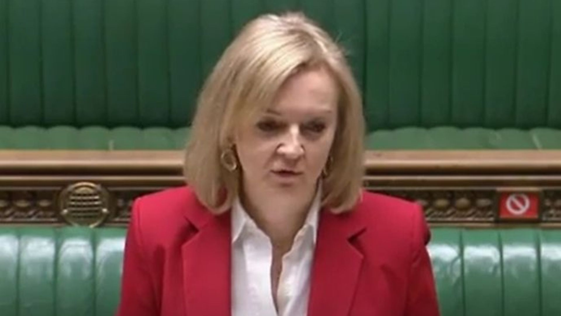 Liz Truss told MPs that new trade deals after Brexit will 'undermine' British farmers - Credit: Parliamentlive.tv