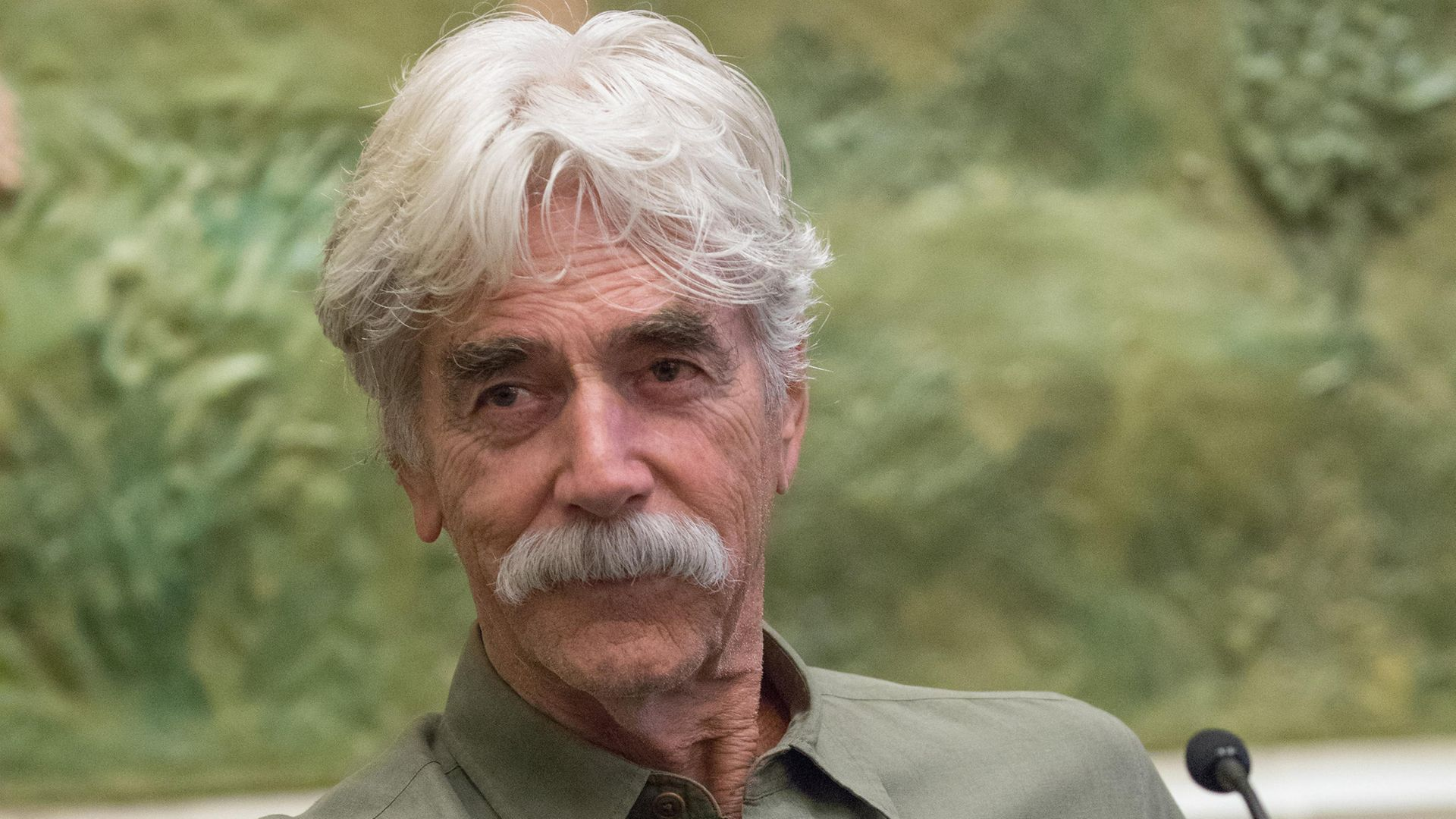 Sam Elliott attends the 2019 Plaza Classic Film Festival press conference at the El Paso Community Foundation. - Credit: Rick Kern/Getty Images