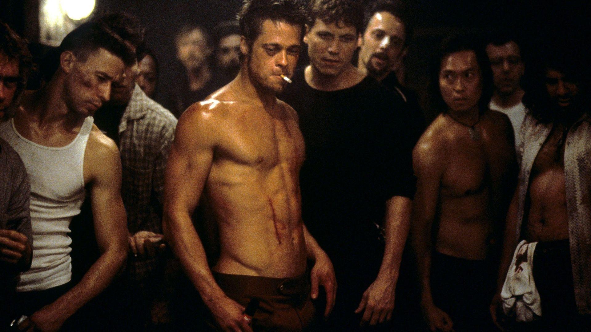 Brad Pitt stars in Fight Club. - Credit: Contributed