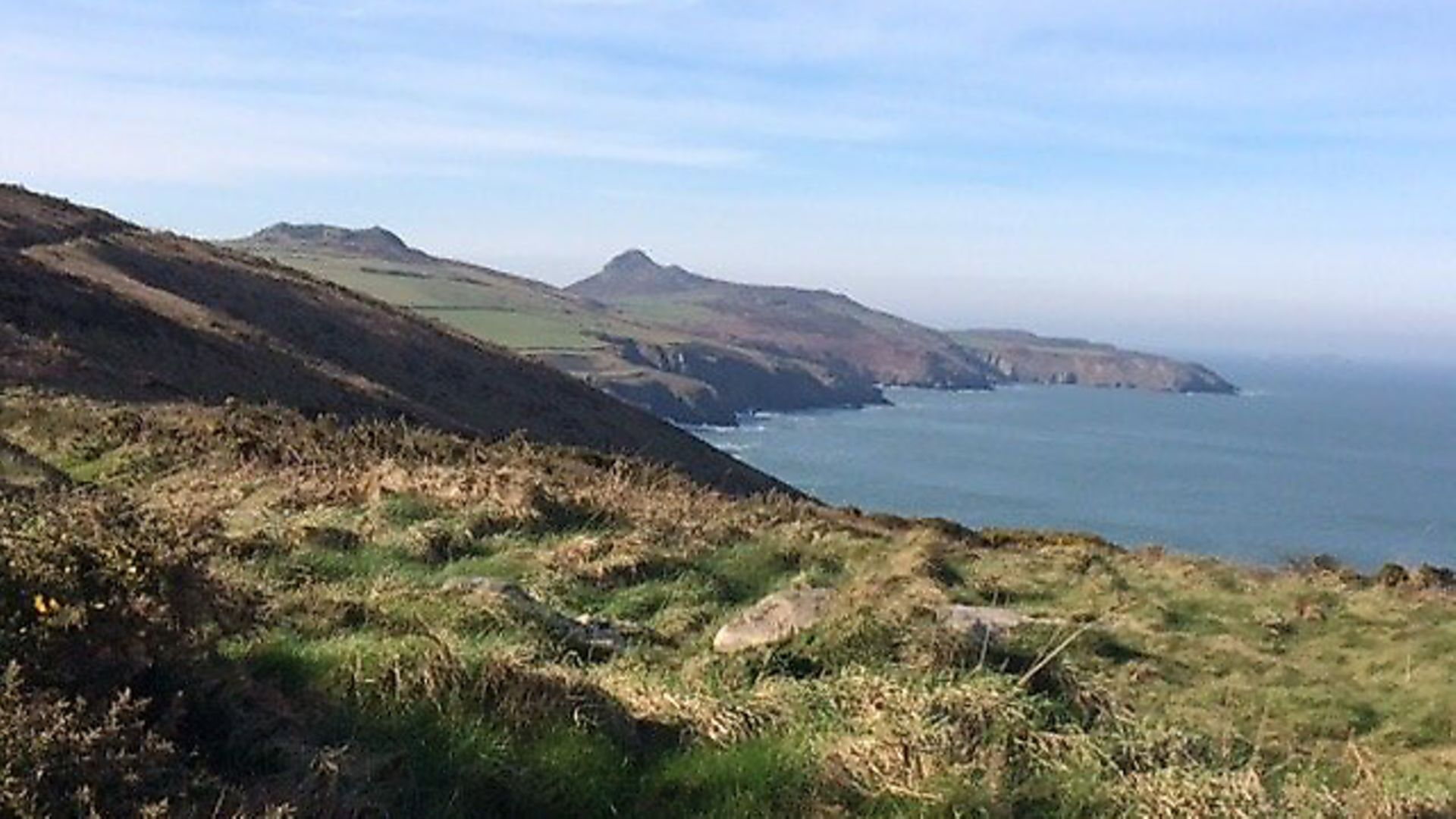 A view along the coast path in Pembrokeshire, west Wales. - Credit: PA Wire/PA Images