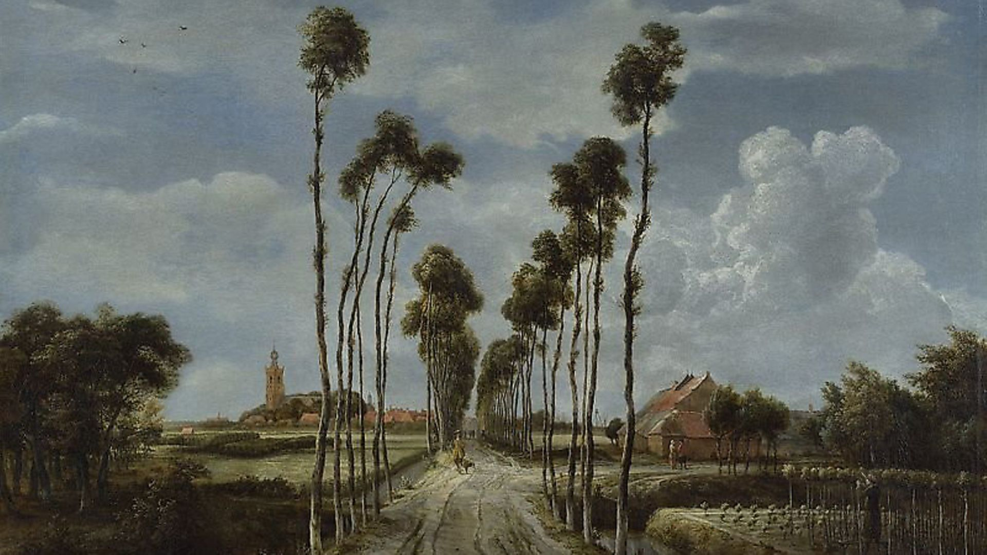 'The Avenue at Middelharnis', 1689 by Meindert Hobbema. Picture: The National Gallery, London/Wikipedia - Credit: Archant