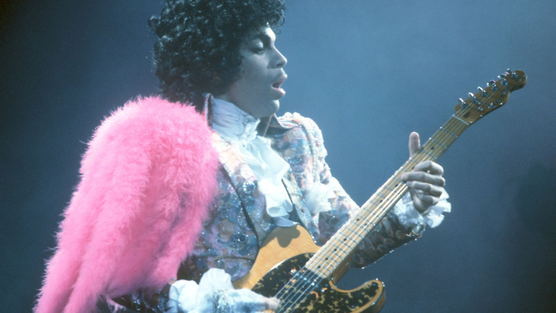 Prince performs live at the Fabulous Forum on February 19 in California. Photo Michael Montfort/Michael Ochs Archives/Getty Images - Credit: Archant