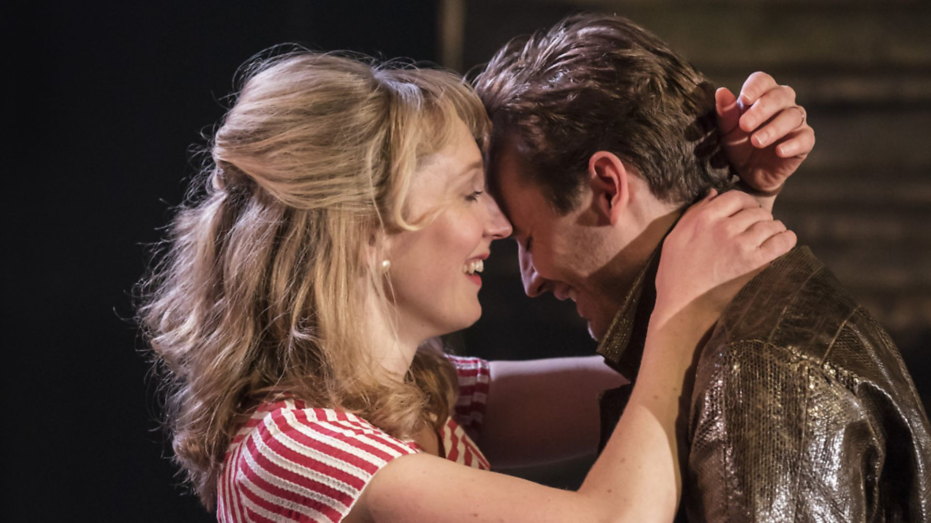 Hattie Morahan as Lady Torrance and Seth Numrich as Val Xavier in Orpheus Descending. Photo: Johan Persson. - Credit: Archant