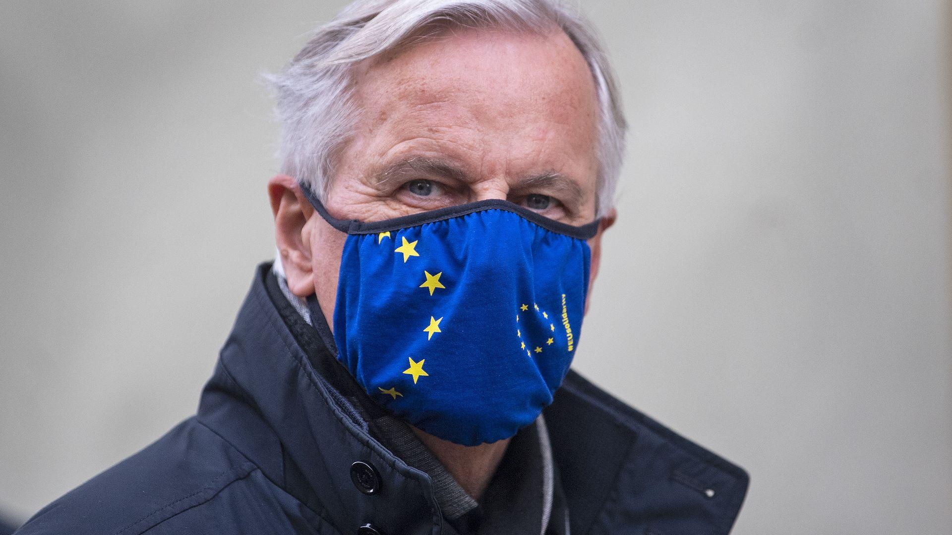 EU's chief negotiator Michel Barnier during talks on a post-Brexit trade deal - Credit: PA