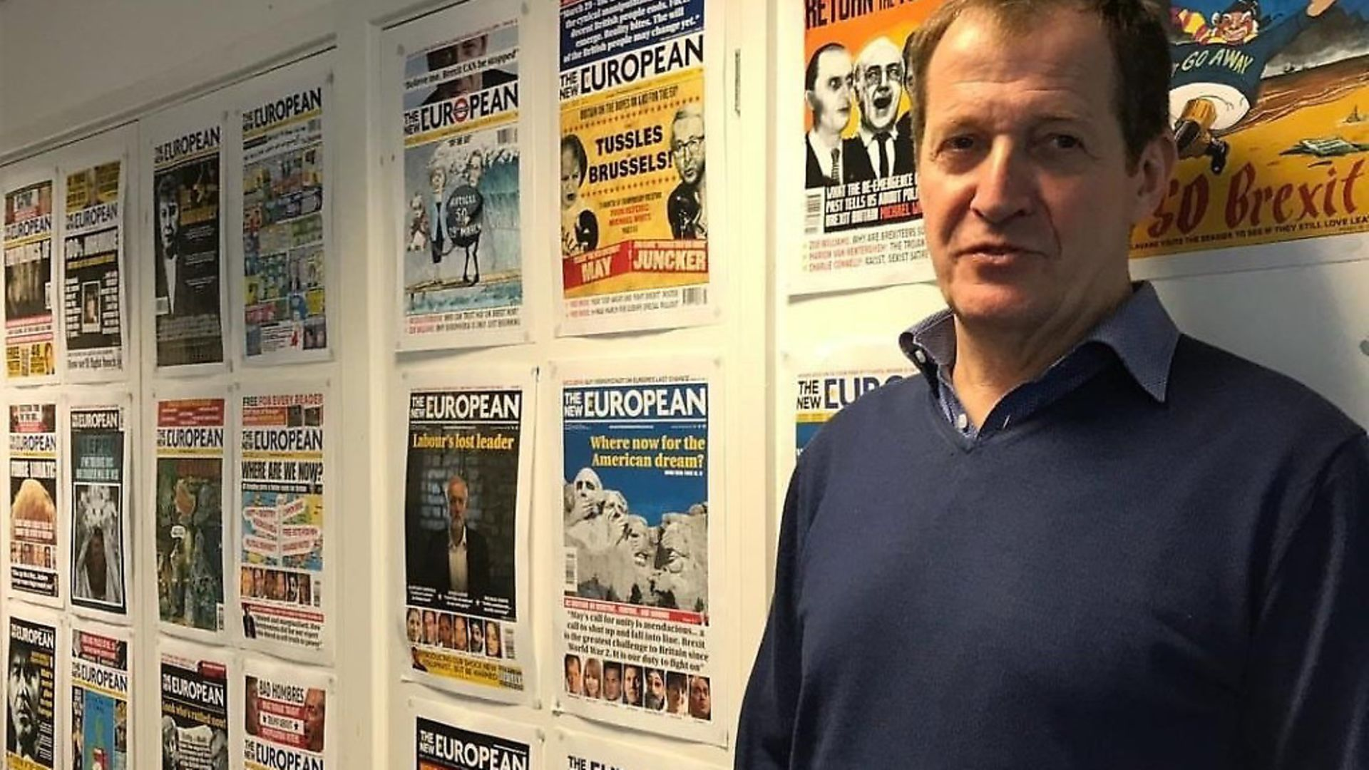 Alastair Campbell. Photograph: Alastair Campbell/Twitter. - Credit: Archant