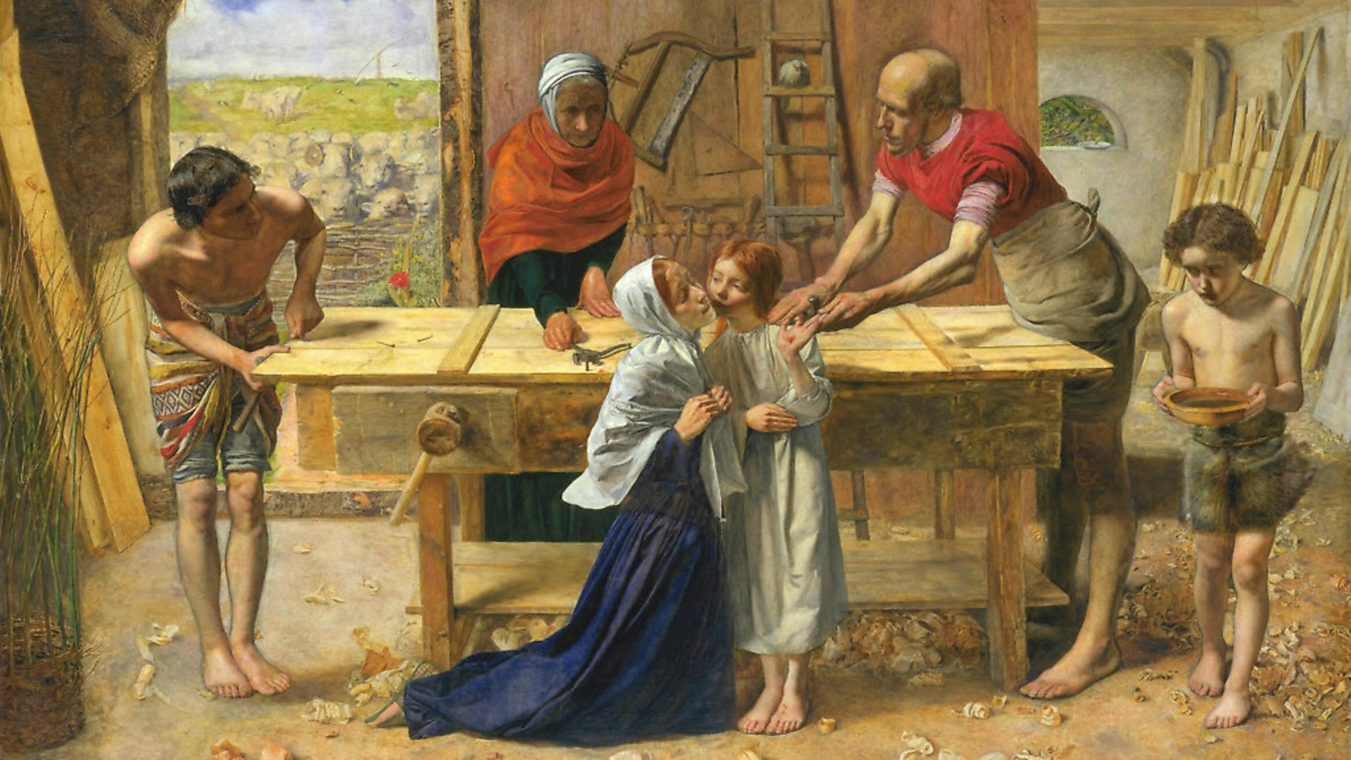 The Pre-Raphaelite Brotherhood were catapulted to notoriety by the unveiling of 'Christ in the House of His Parents' by John Everett Millais. Picture: Getty Images - Credit: Archant