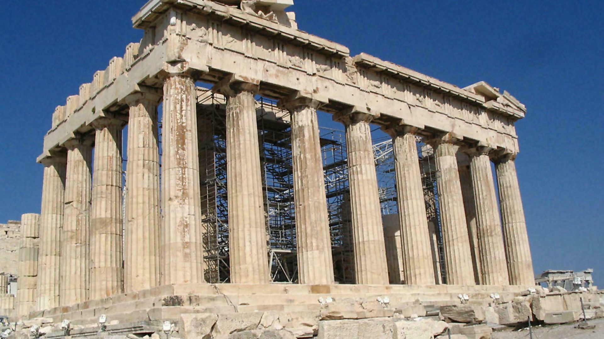 The Parthenon, at The Acropolis in Greece. Peter Trudgill says we have the Ancient Greek language to thank for almost all our misfortunes. Picture: Archant - Credit: Archant