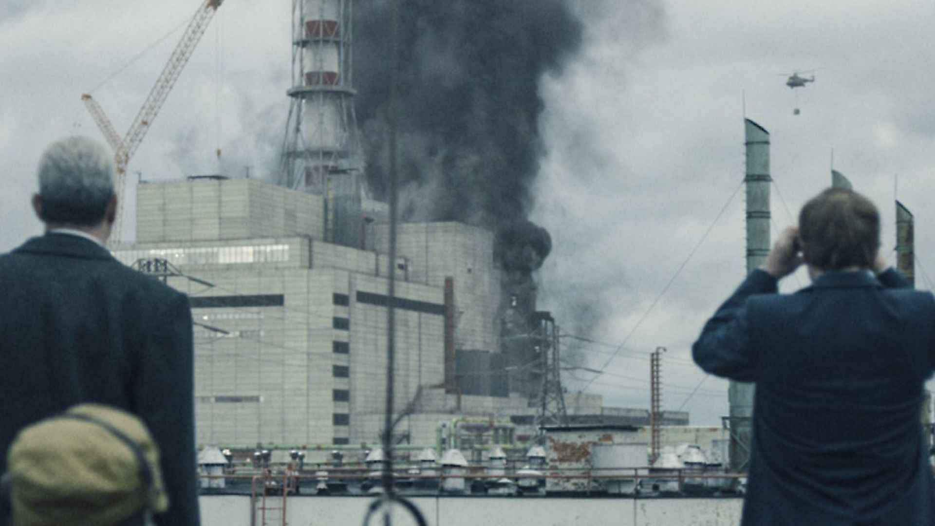 The Truth Exposed: Stellan Skarsgard and Jared Harris in HBO's Chernobyl - Credit: Archant
