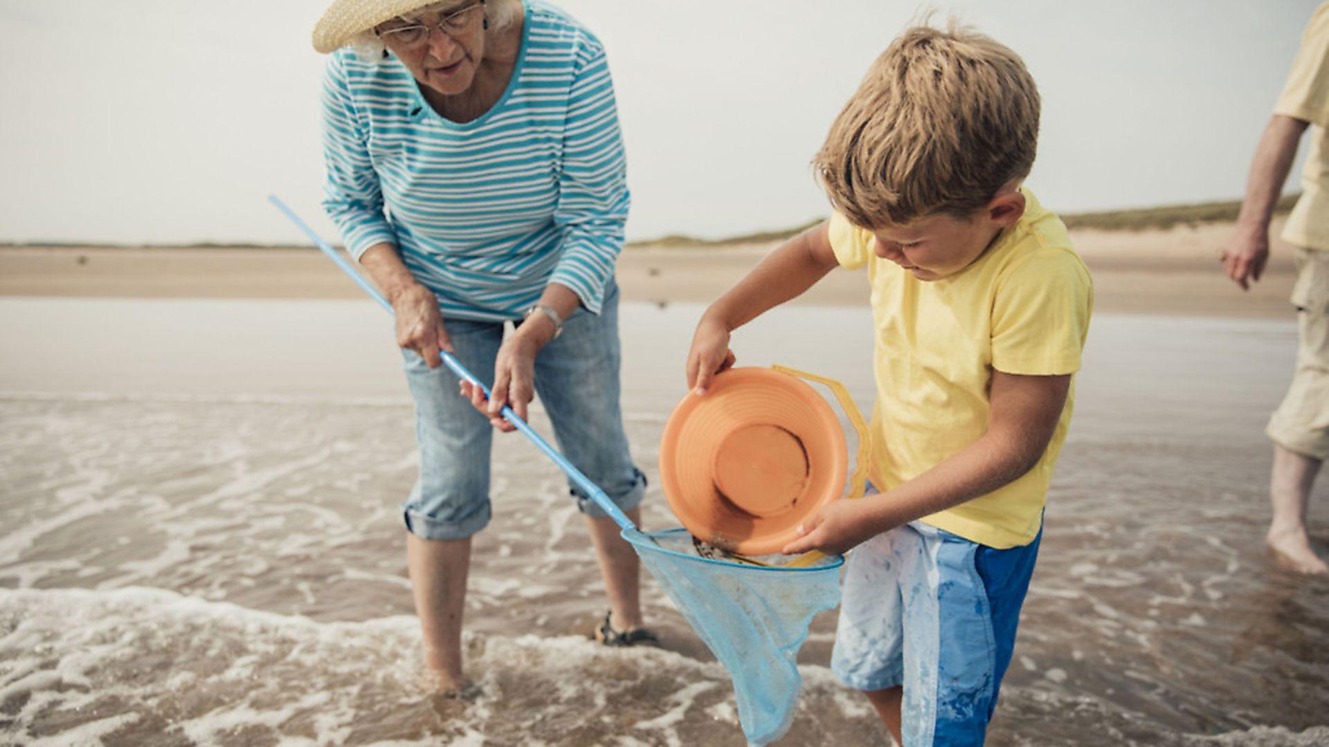 Caring for grandchildren. Picture: PA - Credit: PA