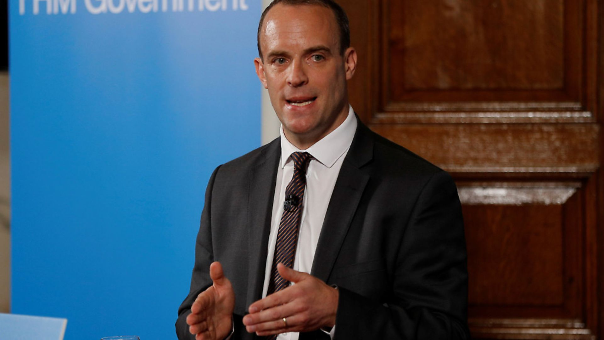 Dominic Raab will receive more than �16,000 in 'redundancy pay' from the taxpayer after quitting the Department for Exiting the EU. Picture: Peter Nicholls - WPA Pool/Getty Images - Credit: Getty Images