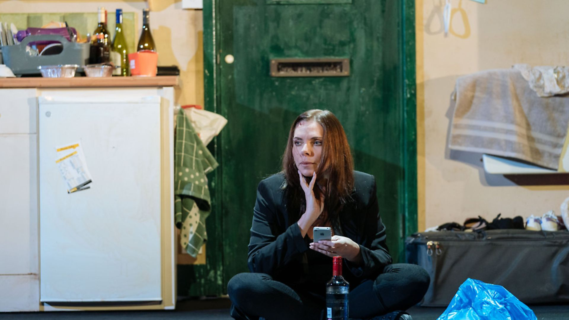 Samantha Womack as Rachel Watson in The Girl on the Train. Picture: Manuel Harlan - Credit: Manuel Harlan