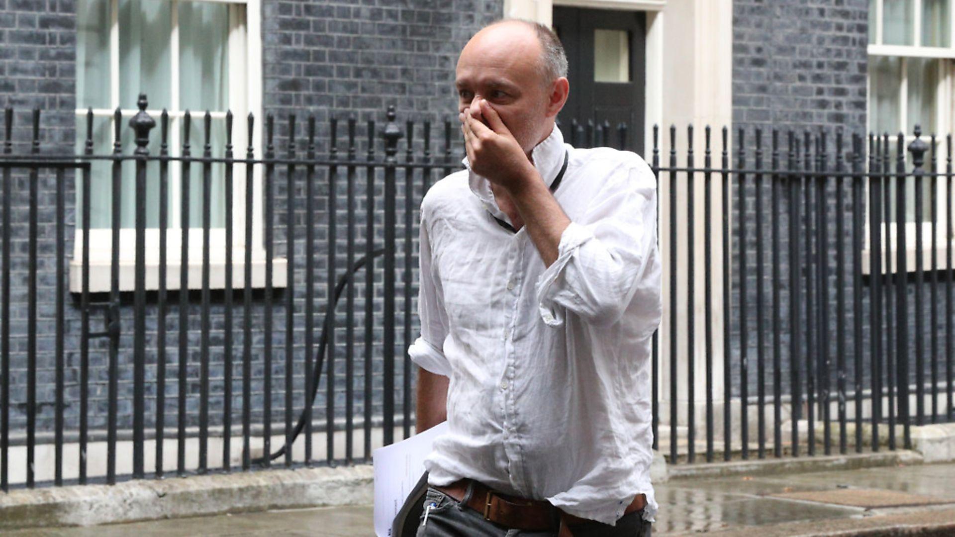 Dominic Cummings leaving Downing Street. Photograph: Jonathan Brady/PA. - Credit: PA Wire/PA Images