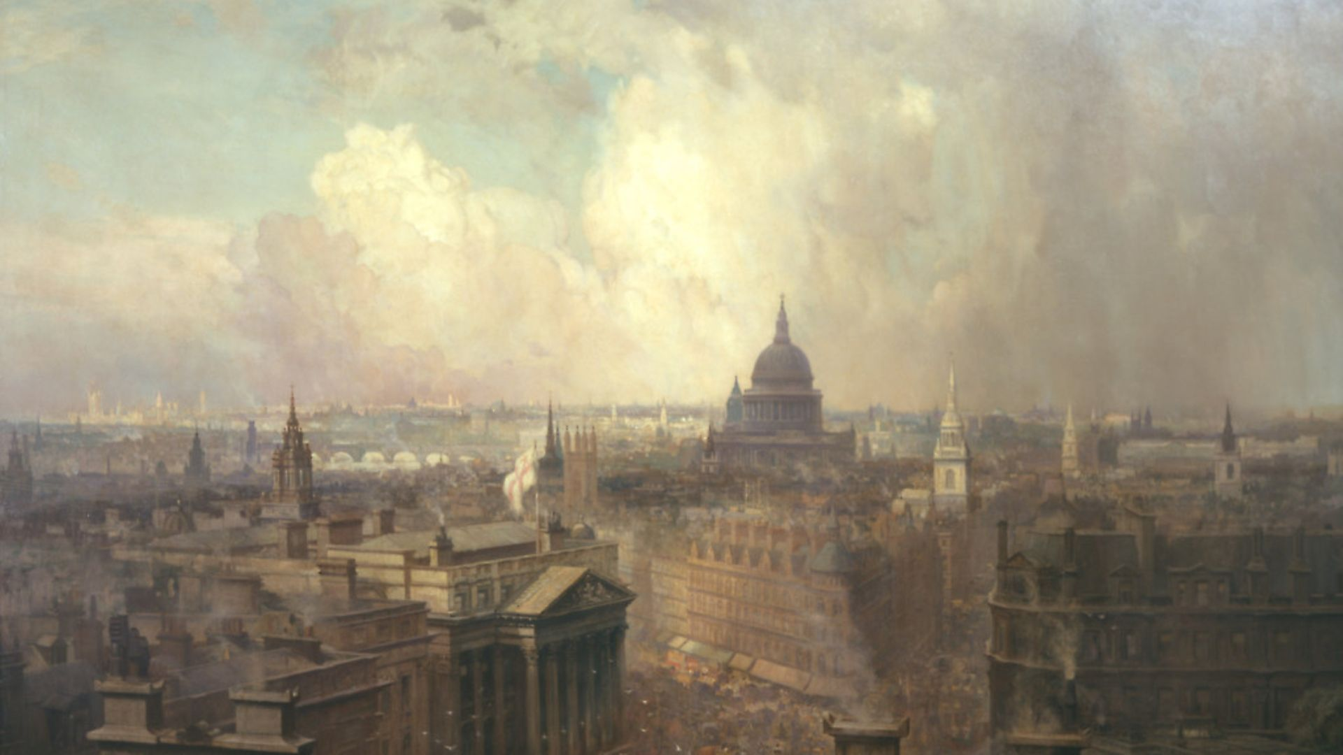 The Heart of the Empire by Niels Moeller Lund, will feature in the exhibition at the Guildhall Art Gallery - Credit: Archant